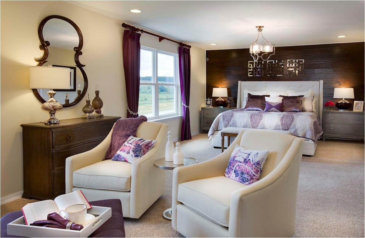 light filled master bedroom