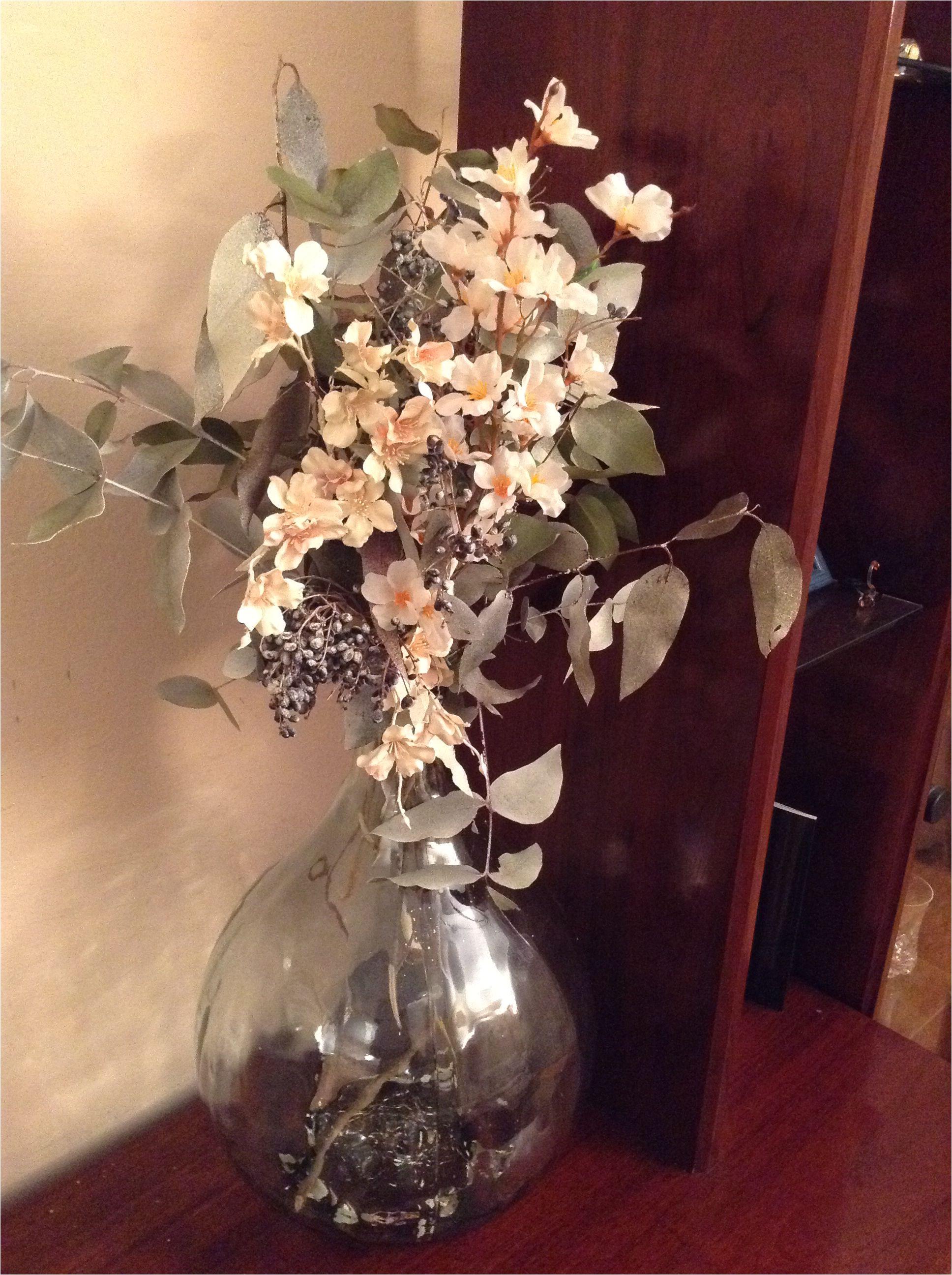 flores secas y flores artificiales
