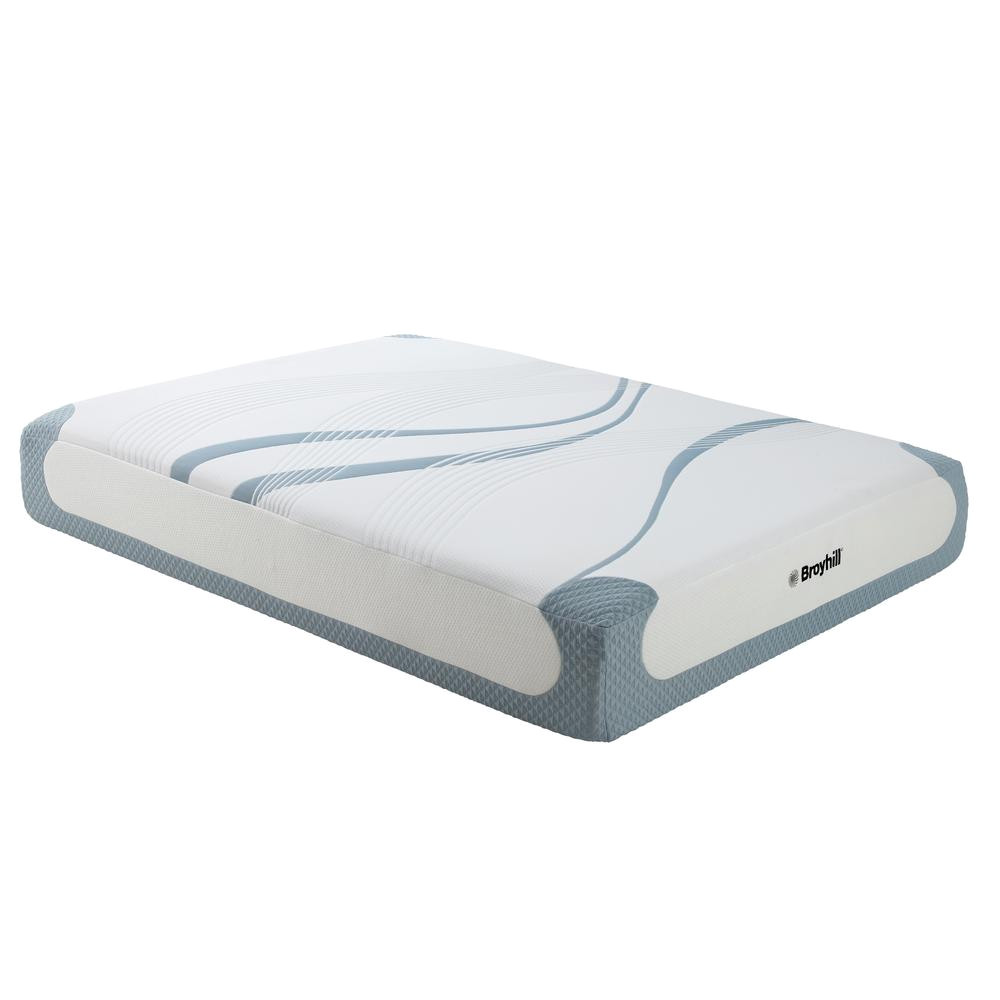 cal king medium plush gel memory foam mattress