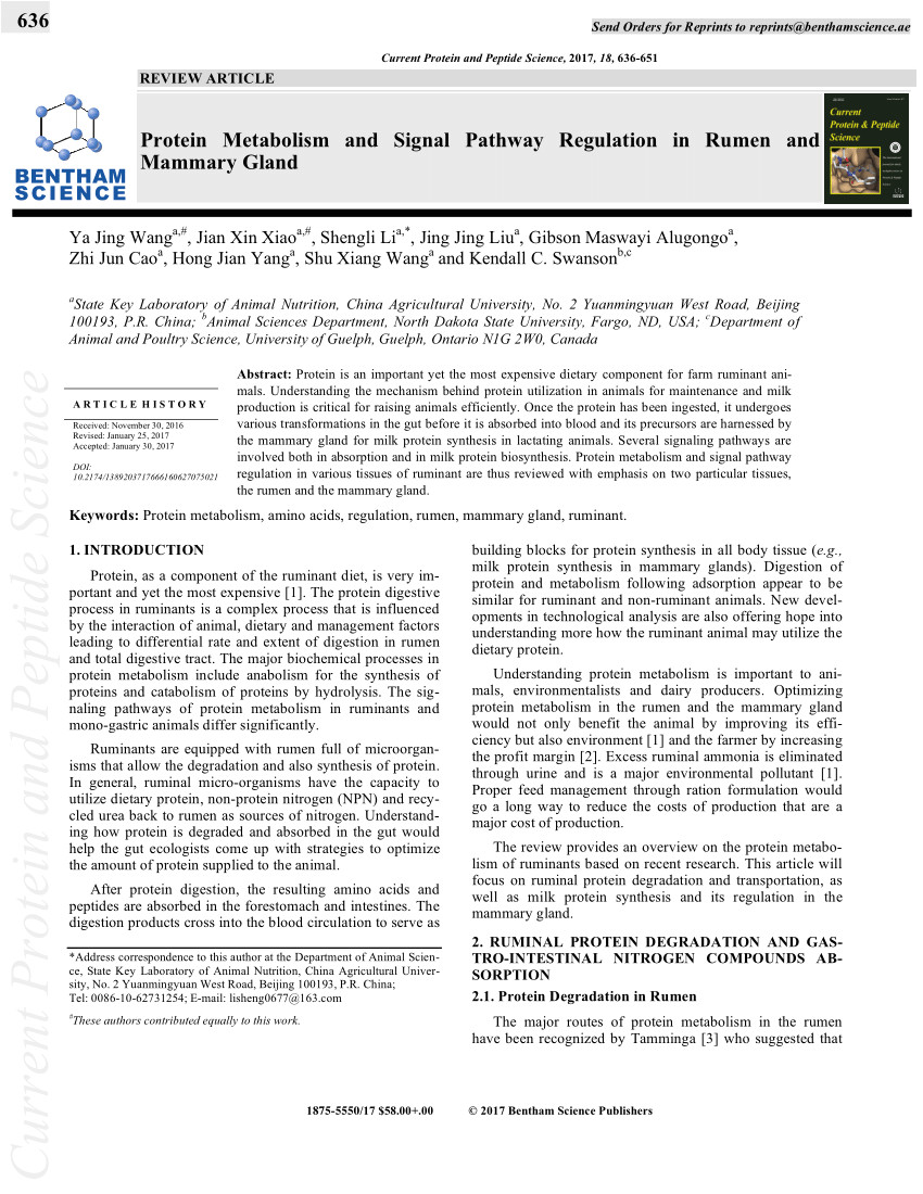 pdf dietary nitrogen reduction enhances urea transport across goat rumen epithelium