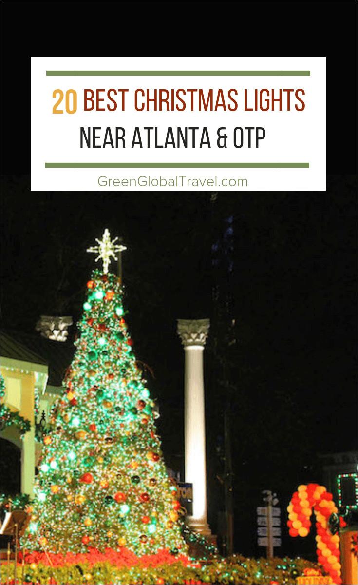 the 20 best christmas lights near atlanta for 2018 including the botanical gardens lake lanier callaway gardens stone mountain blue ridge more