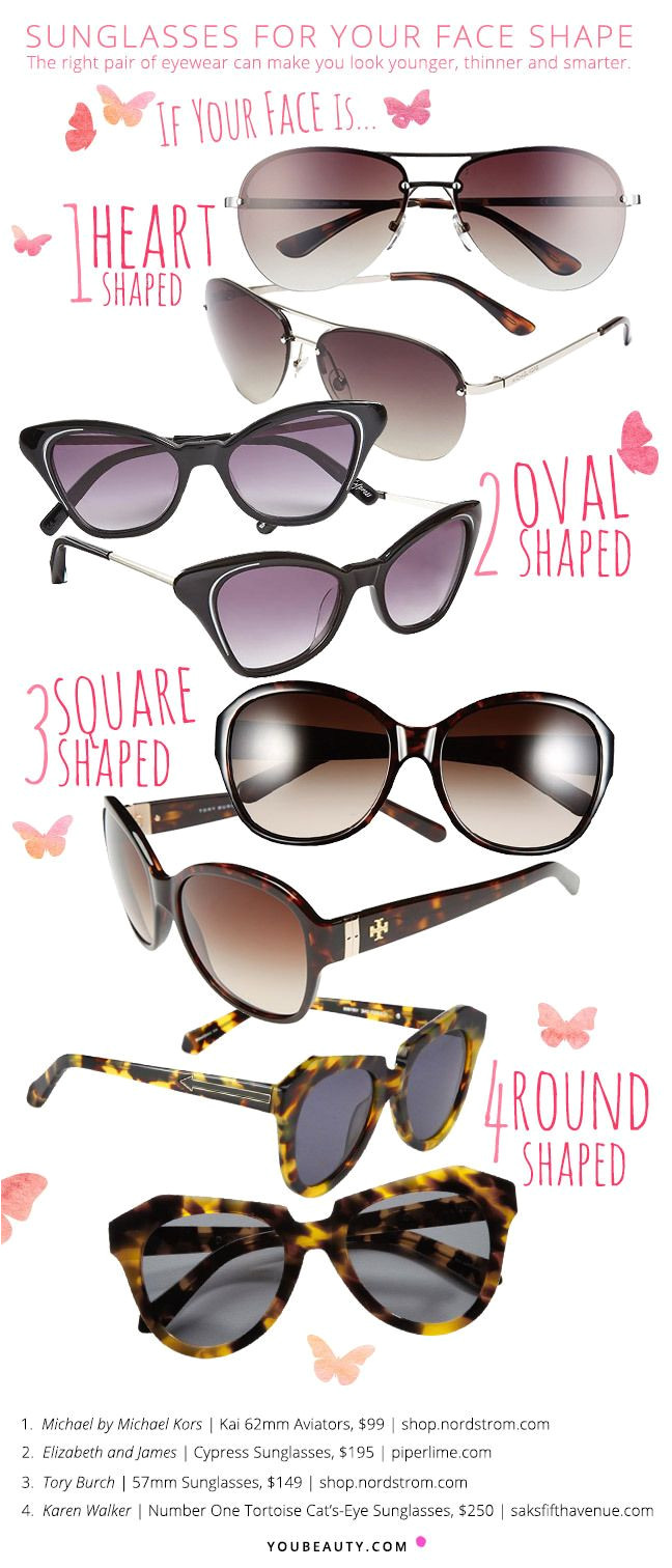 this summer s most flattering sunglasses for your face shape