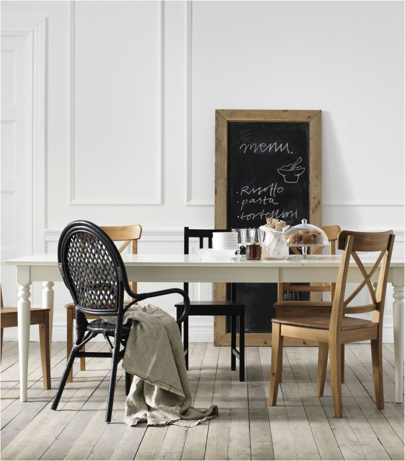 inspiration house astonishing white dining chairs ikea such as pied de table metal design inspirant