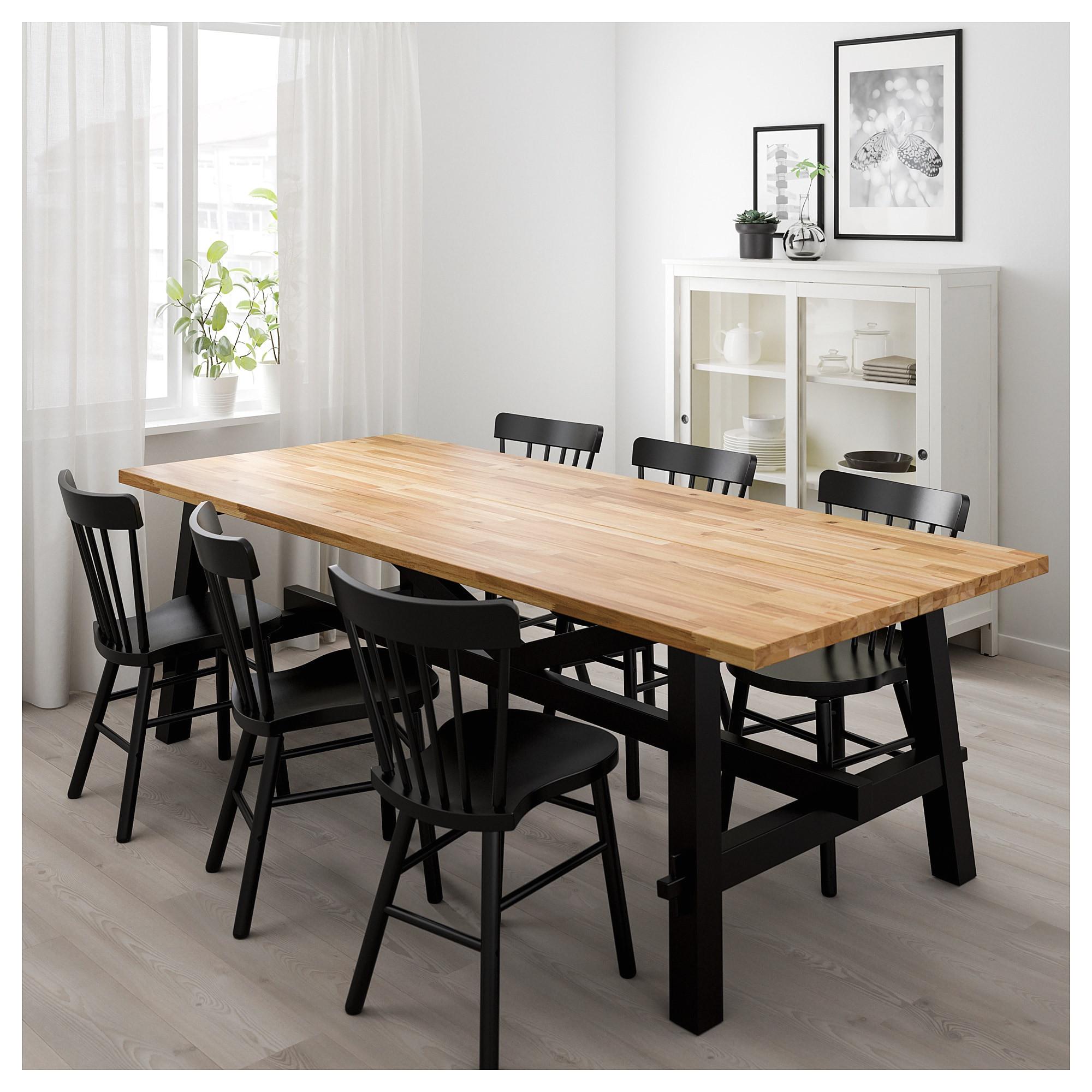 Clear Plastic Dining Chairs Ikea Skogsta Dining Table Acacia 235 X 100 Cm Ikea