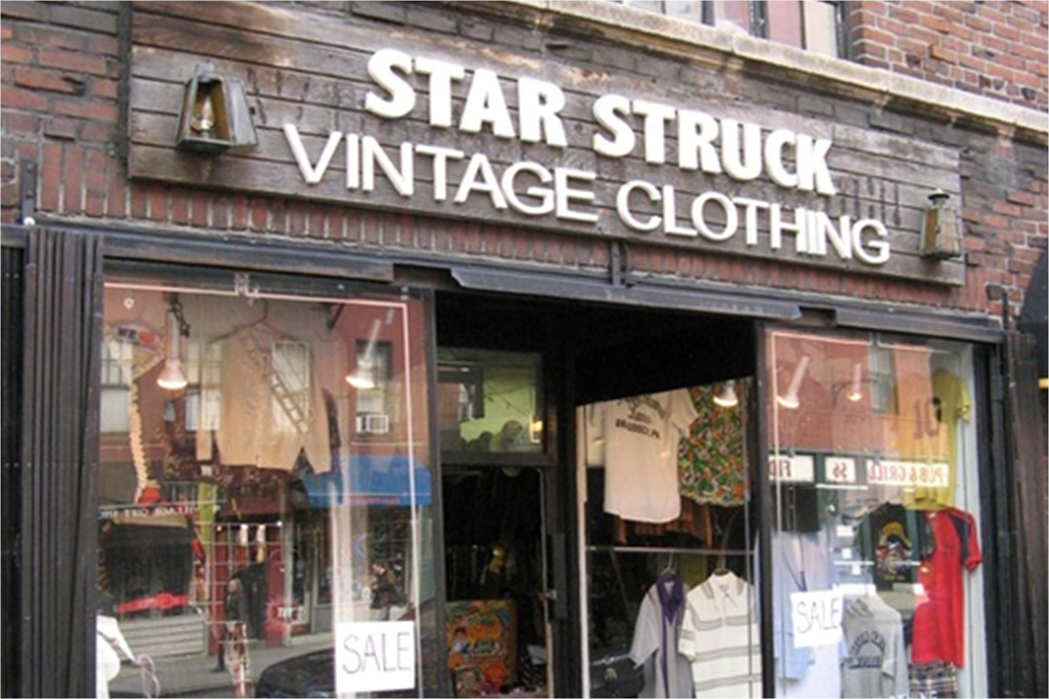 star struck vintage clothing