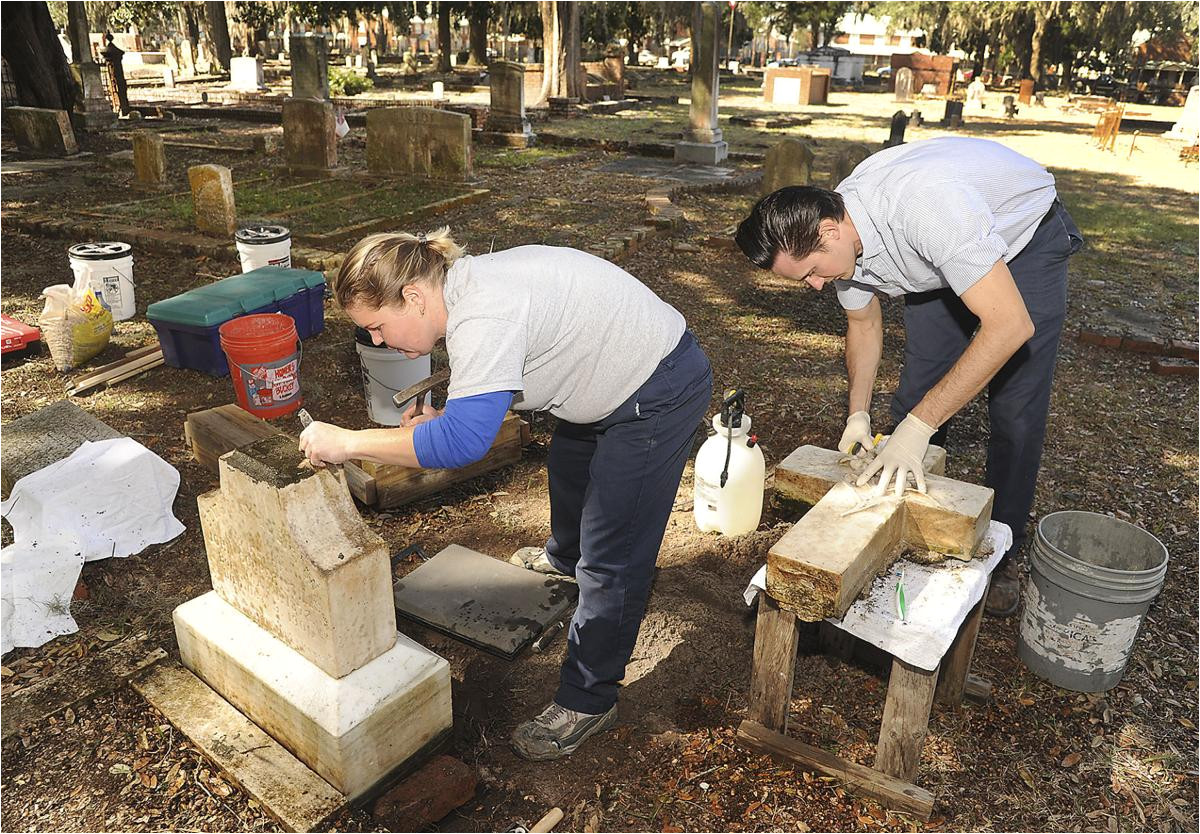 study of local historic cemetery takes modern technology local news the brunswick news