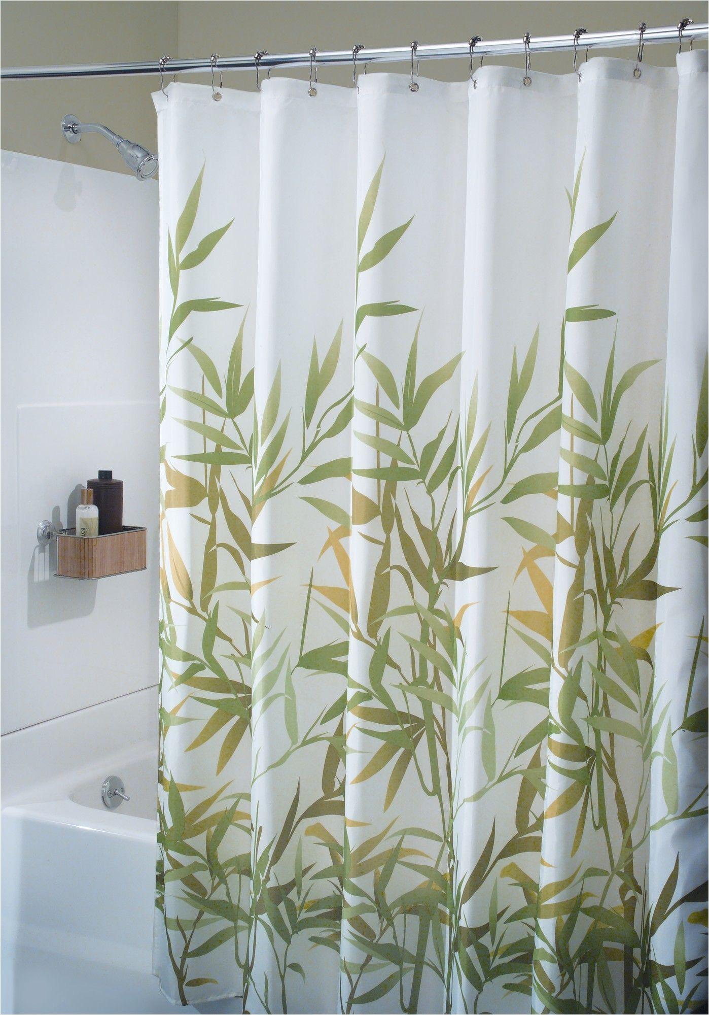 anzu shower curtain cortinas de ducha de tela baa o pequea o para casa ideas para