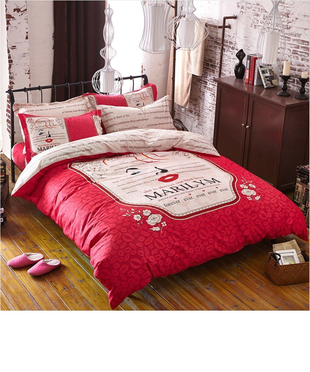 glf home bedding sets elegant style print twin size set for lovely teen girls 100 cotton fiber duvet cover flat sheet shams set 4pieces price 100 45