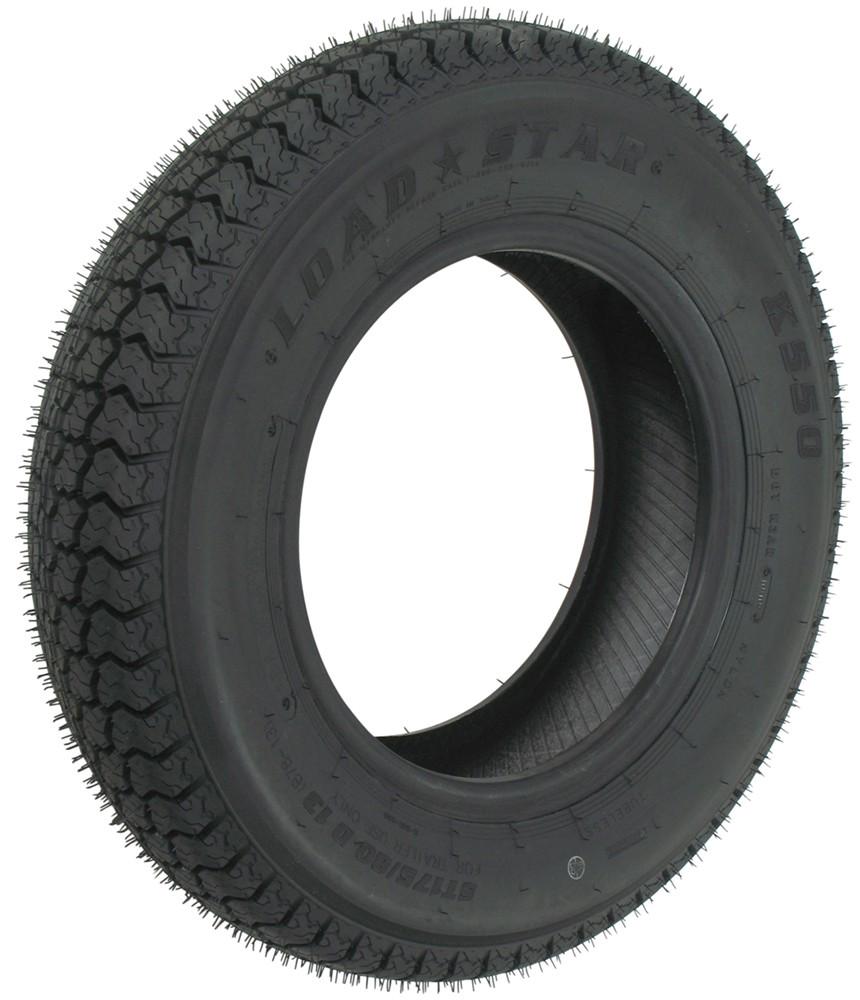 loadstar st175 80d13 bias trailer tire load range b kenda tires and wheels am1st74