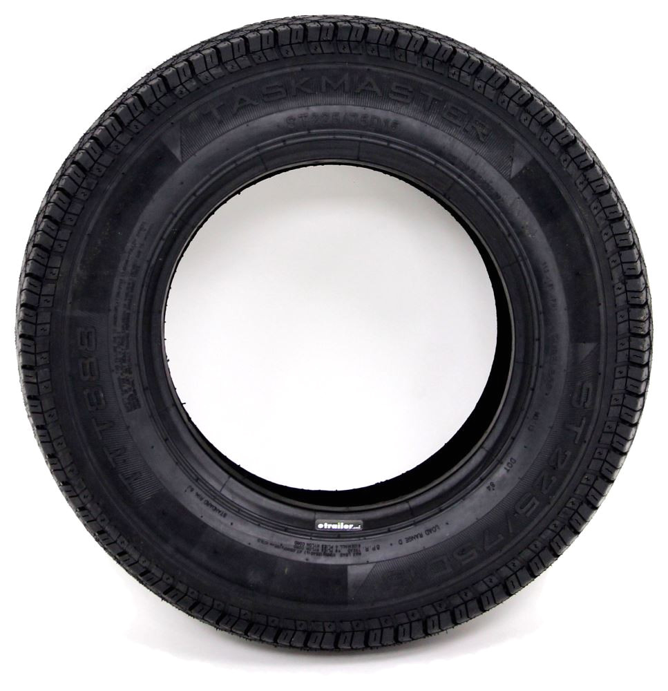taskmaster st225 75d15 bias ply trailer tire load range d taskmaster tires and wheels ttwsf22515d