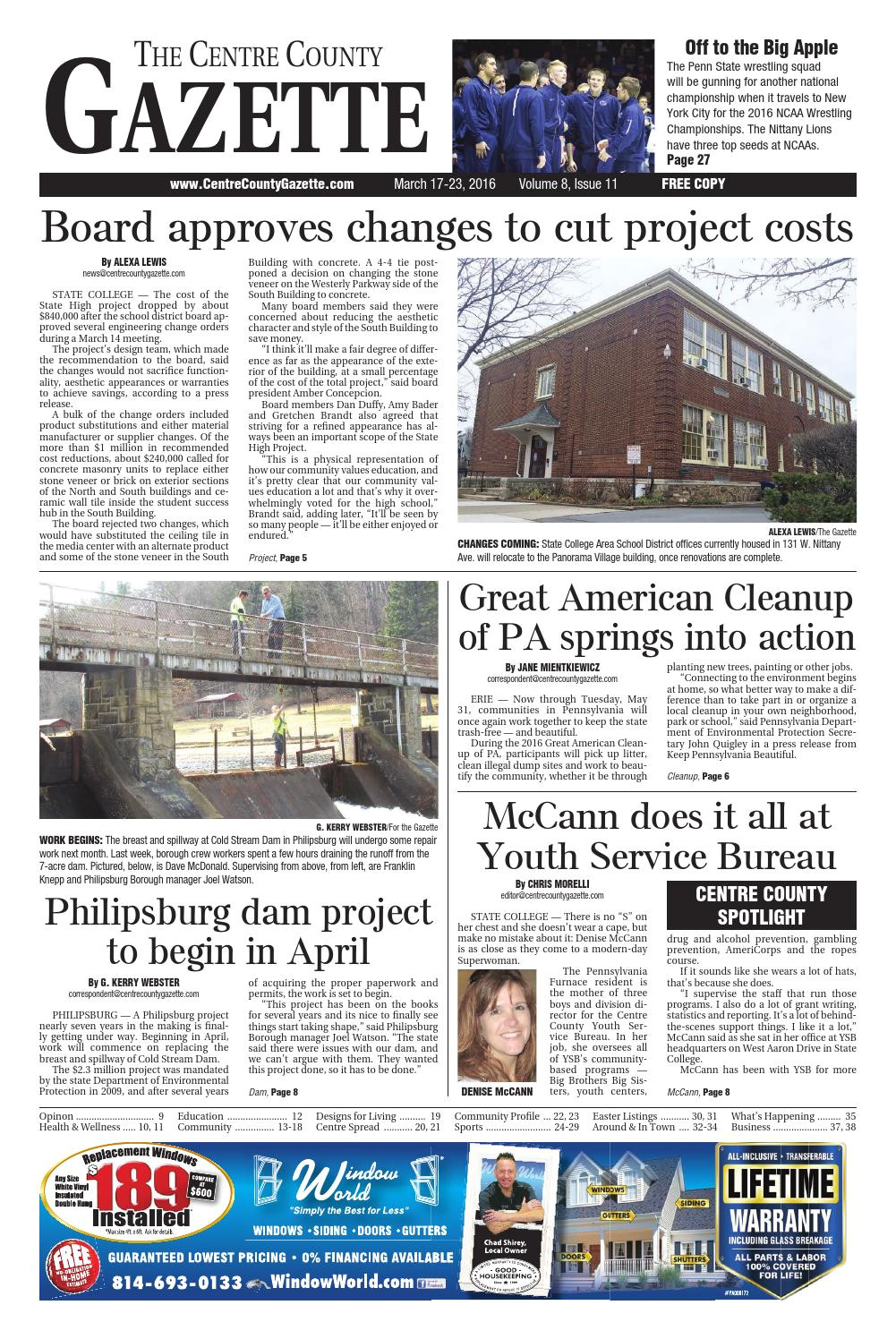 centre county gazette march 17 2016 by indiana printing publishing issuu