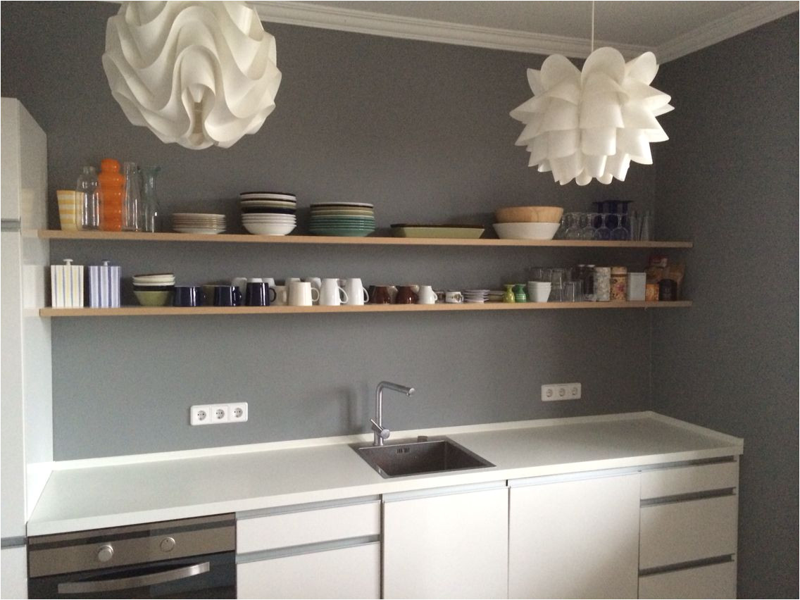 kitchen painted in farrow ball plummett berlin interiors
