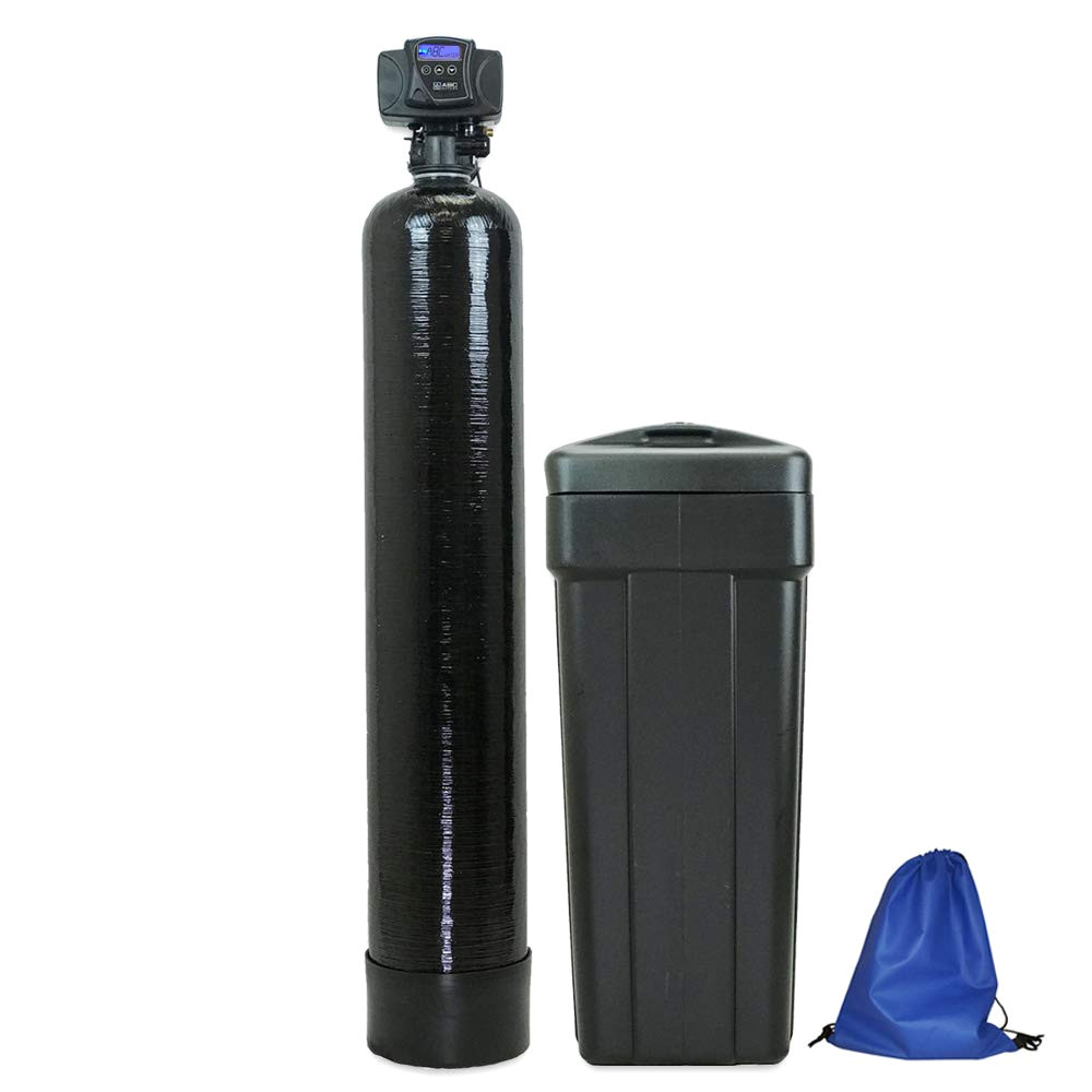 abcwaters 48k 56sxt 10ss 10 resin water softener black product image