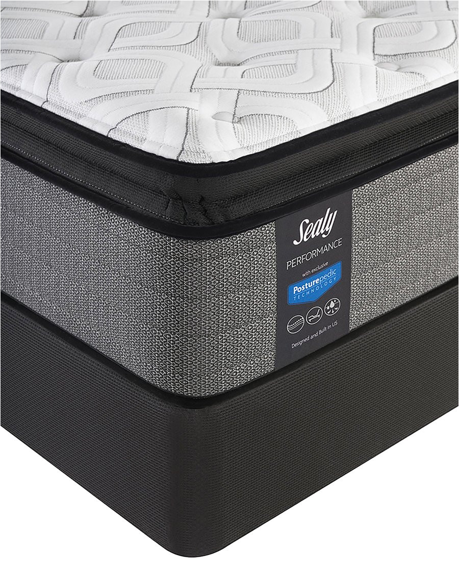 amazon com sealy posturepedic queen response performance cooper mountain iv cushion firm pillow top mattress kitchen dining