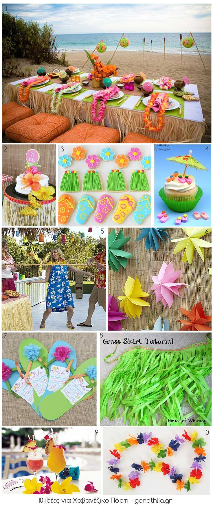 10 luau party ideas for summer