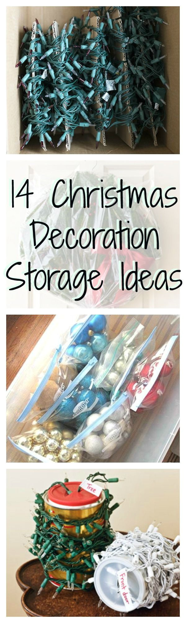 15 super smart ways to store all of your christmas decorations para navidadalmacenamiento