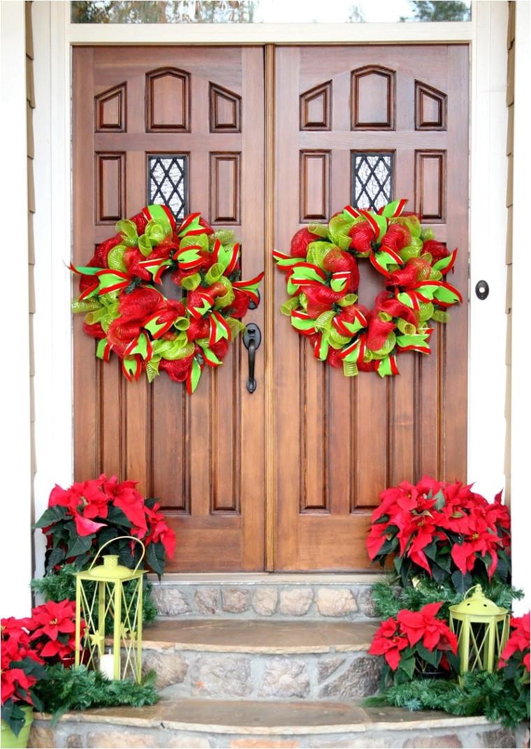 amazing decorar puertas navidad diseno adornos ideas with decoracion puertas navideas