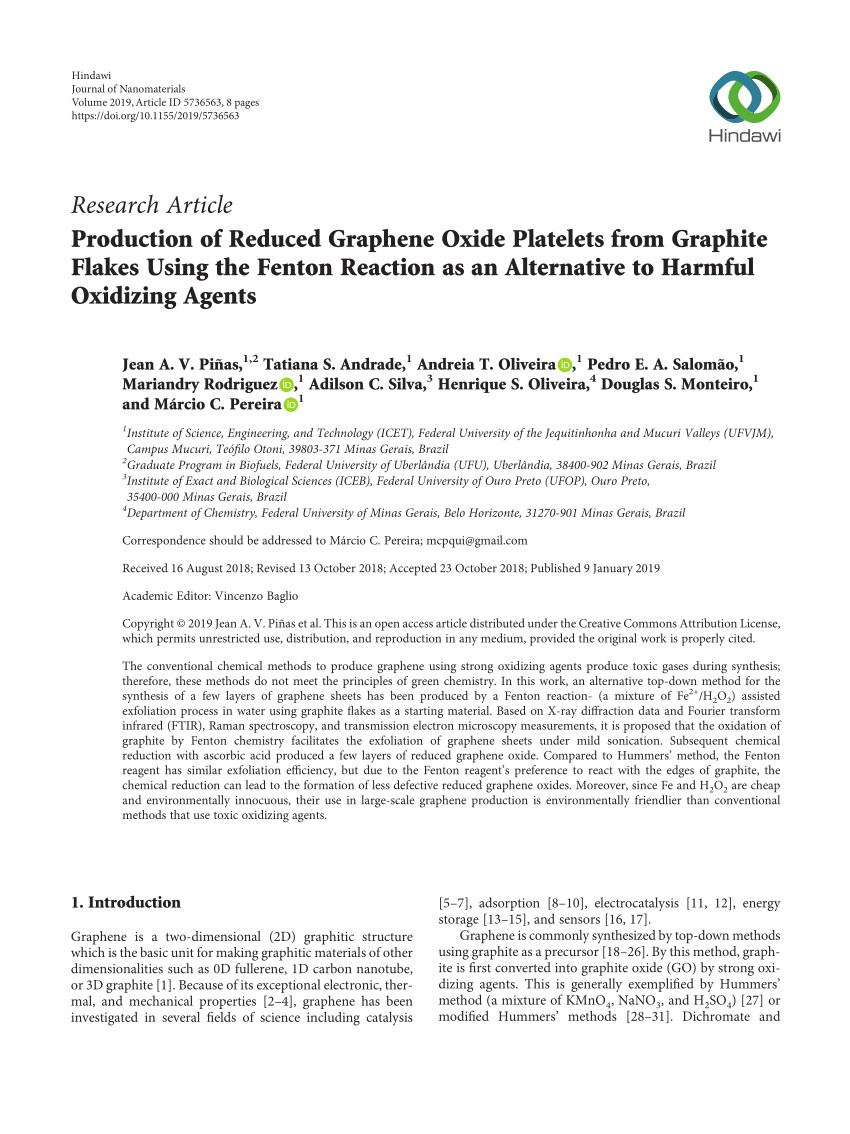 Difference Between Down Alternative and Down Blend Pdf the Reduction Of Graphene Oxide