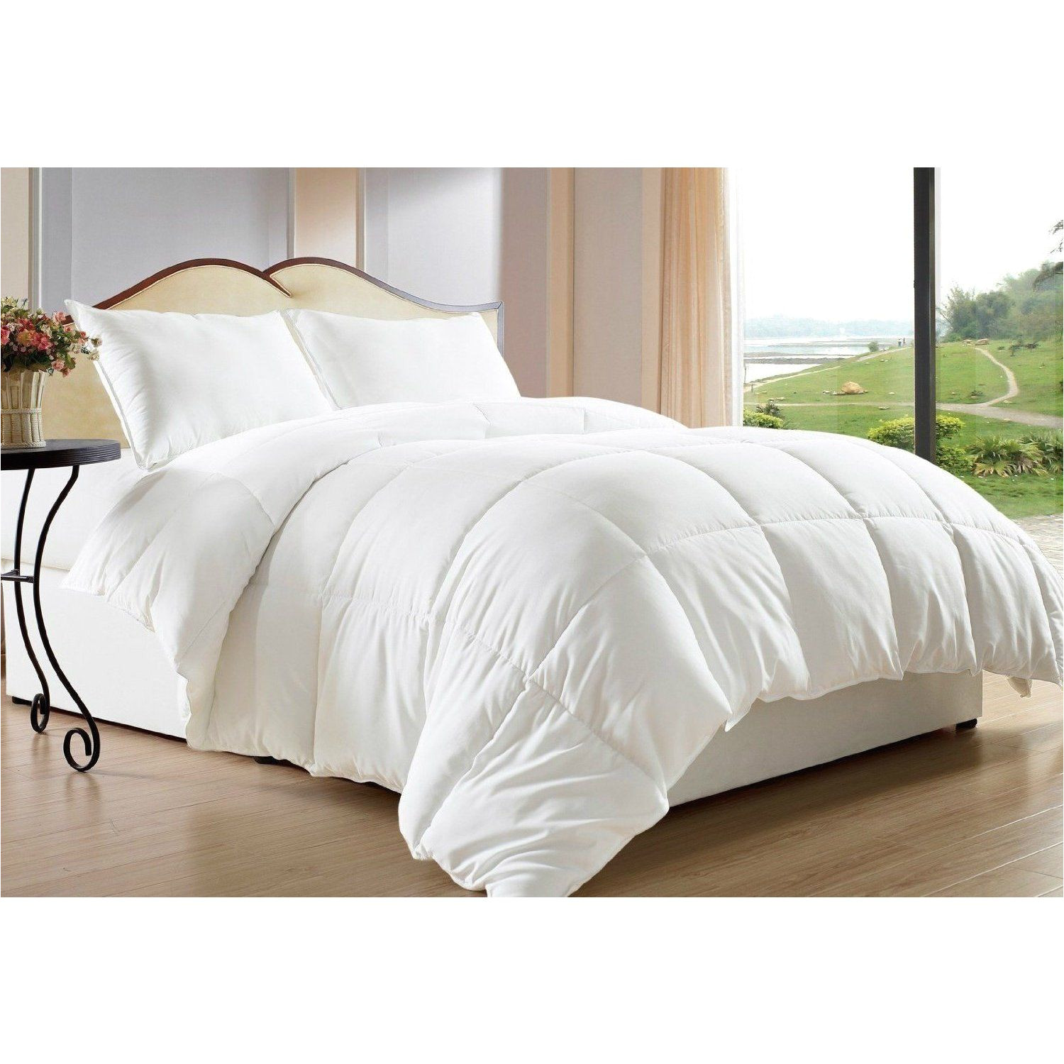 hypoallergenic down alternative comforters provide the warmth and softness of down that minimize the development of allergic reactions