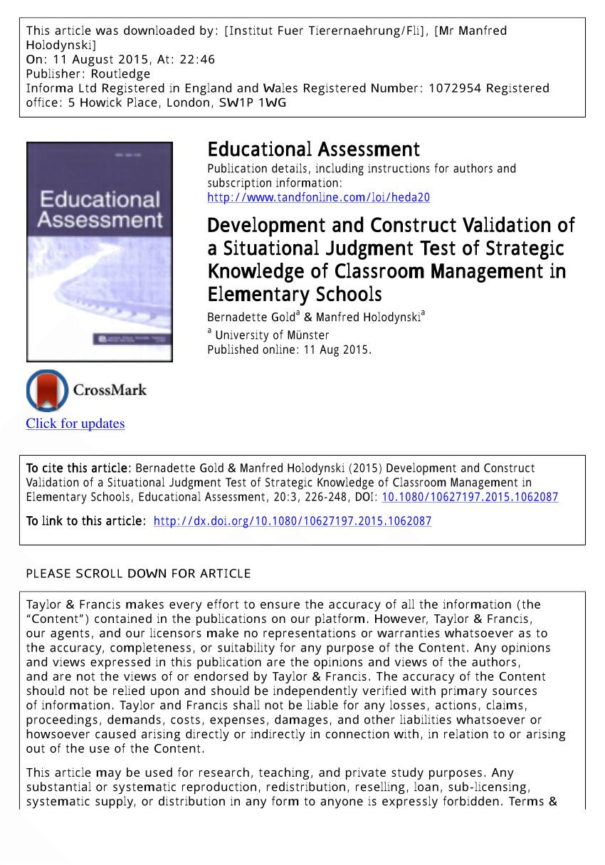 pdf professionelle wahrnehmung von klassenfuhrung vergleich von zwei videobasierten erfassungsmethoden