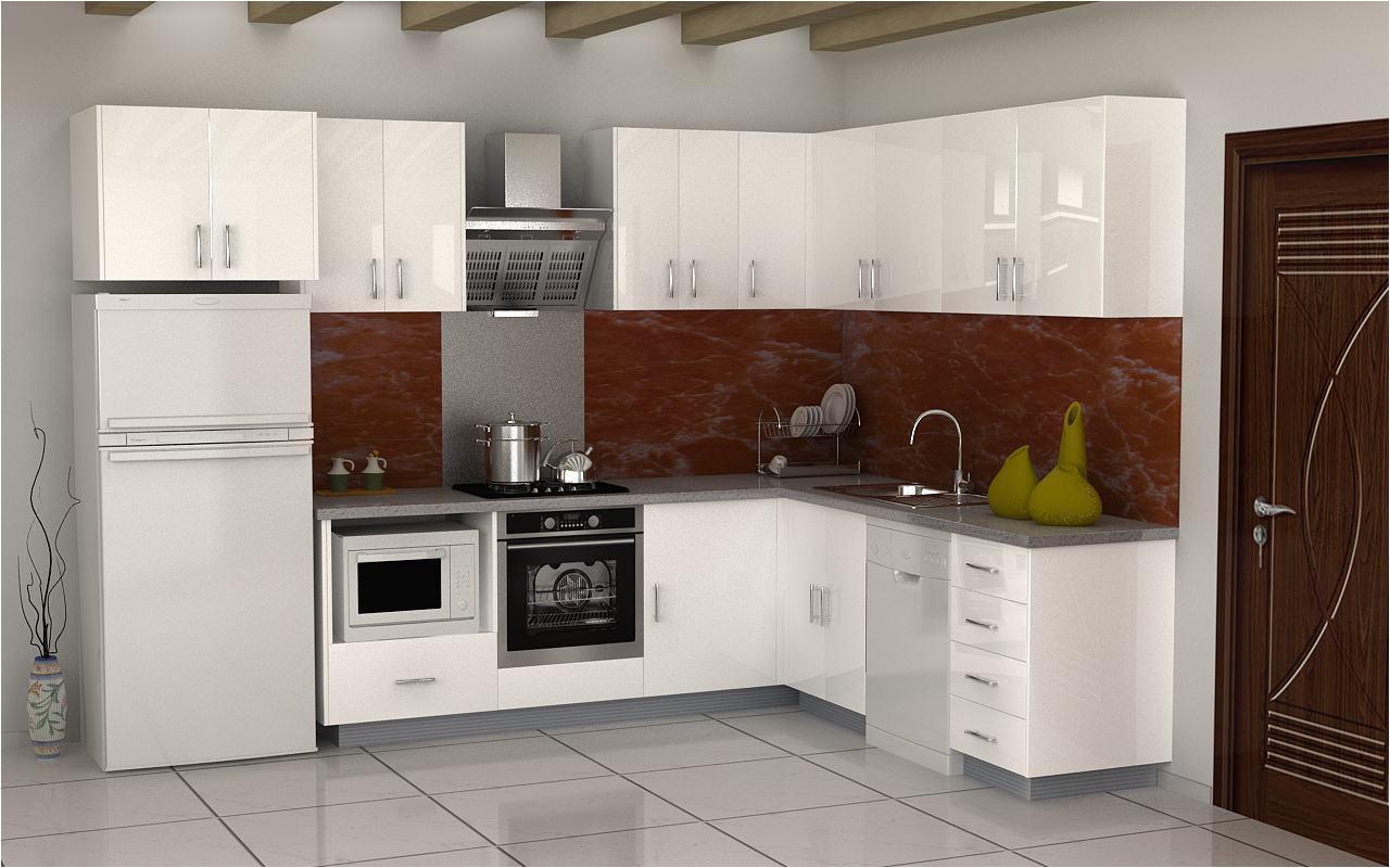 gabinete de cocina del mdf de los disea os simples del