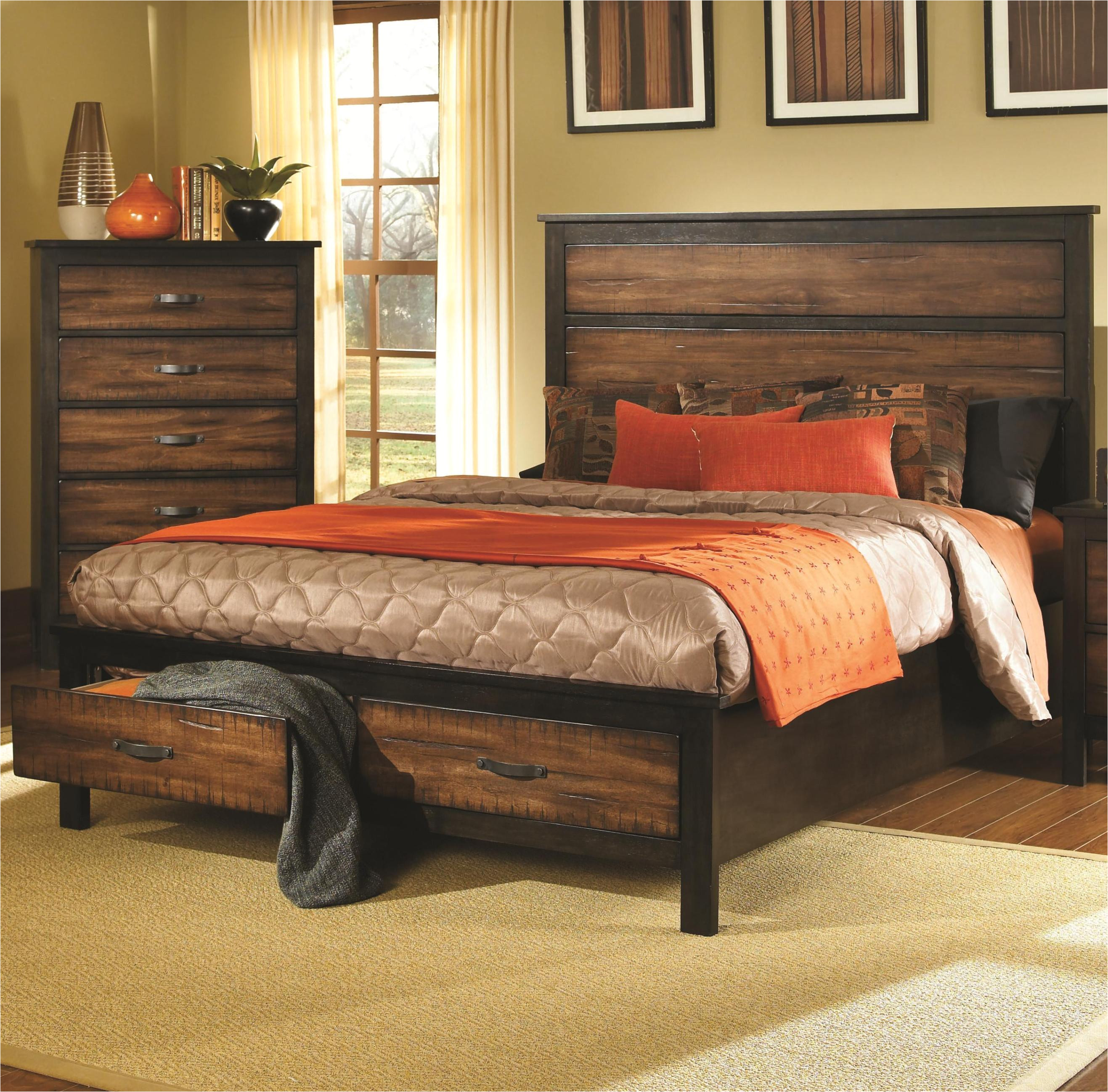 12 photos gallery of stylish california king bed frame with storage