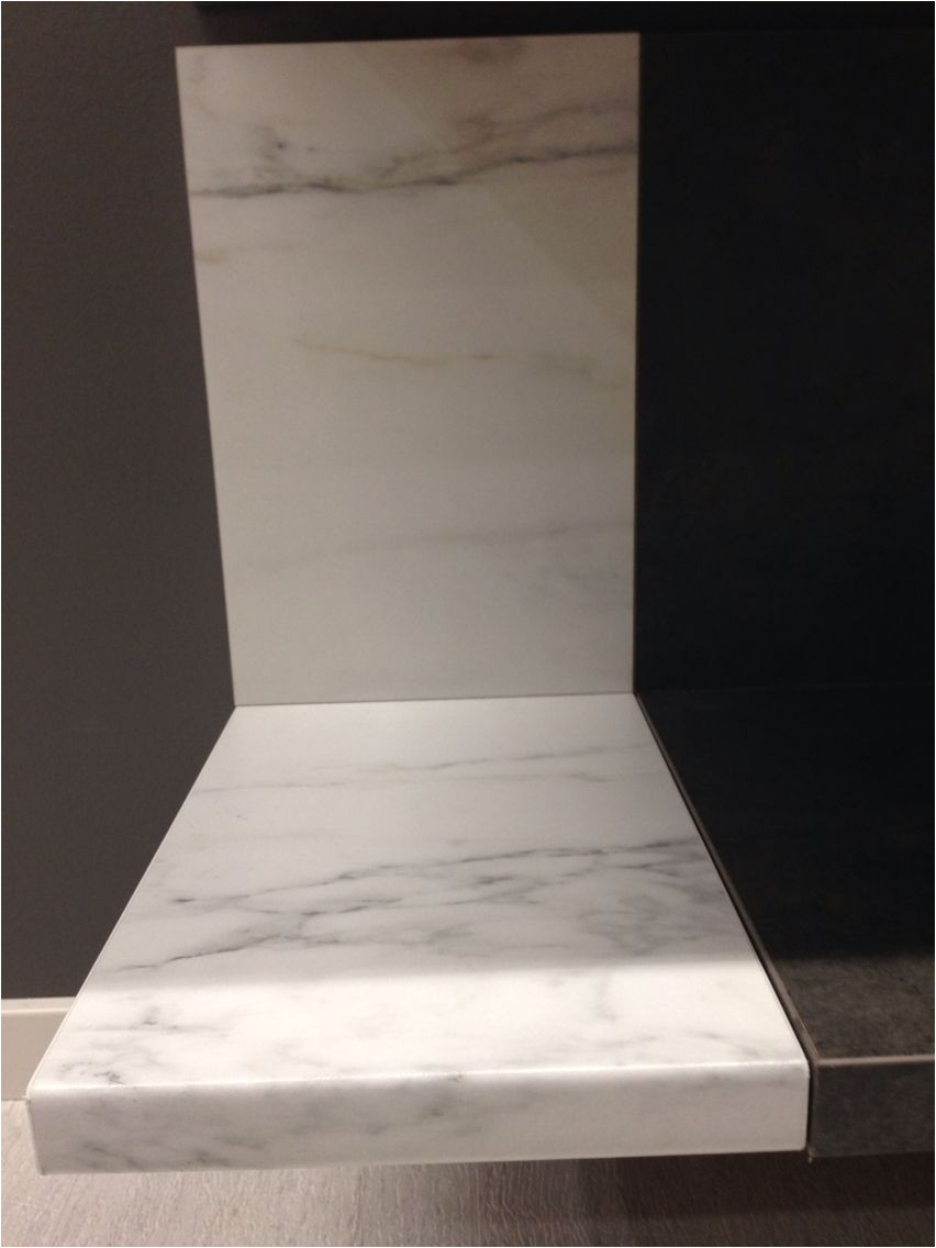 Ekbacken Countertop White Marble Effect Personlig Bankskiva Ikea Vit Marmormonstrad Tvattstuga Home