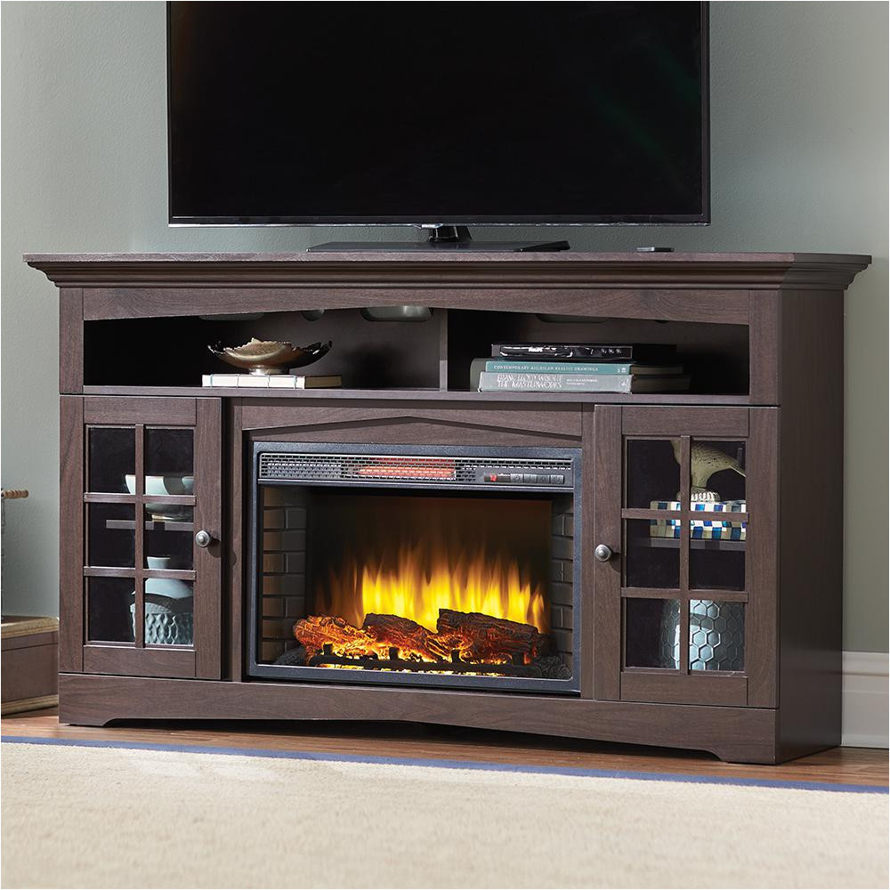 Ember Hearth Electric Fireplace Media Console Costco Electric