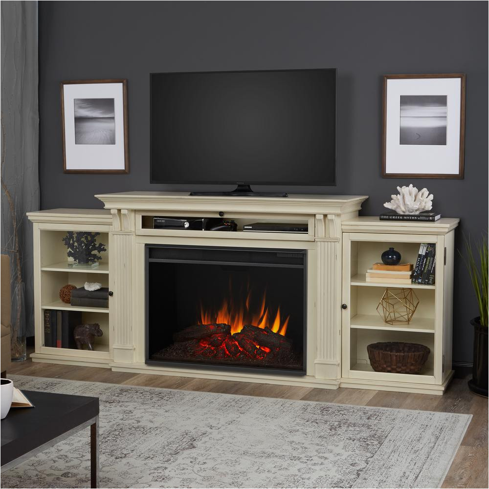 tv stand with soundbar space costco bayside tv stand electric fireplace to heat 1500 square feet