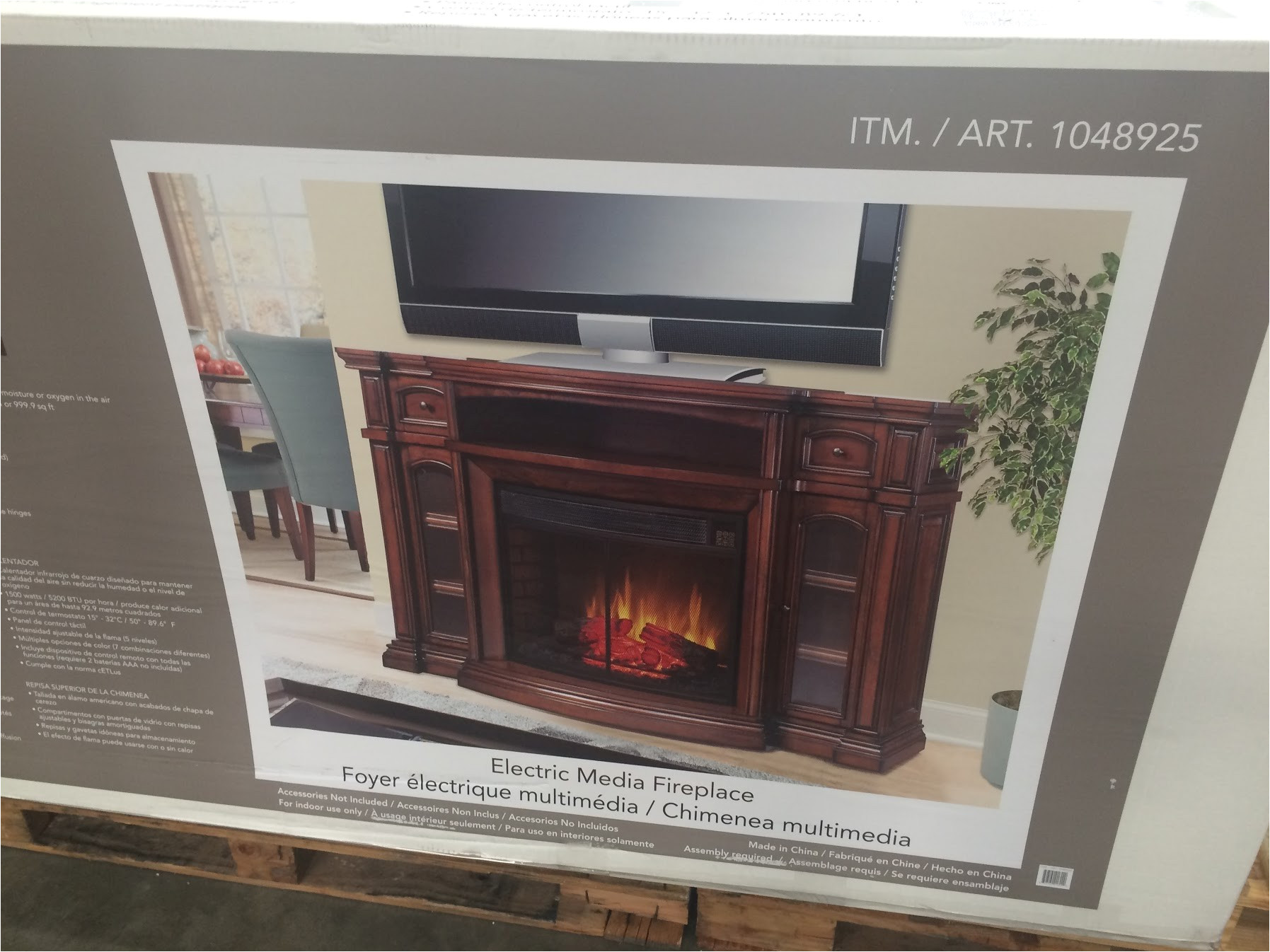 Ember Hearth Electric Media Fireplace Costco the Super Free Electric Fireplace Heater Costco Images Biz Momentum