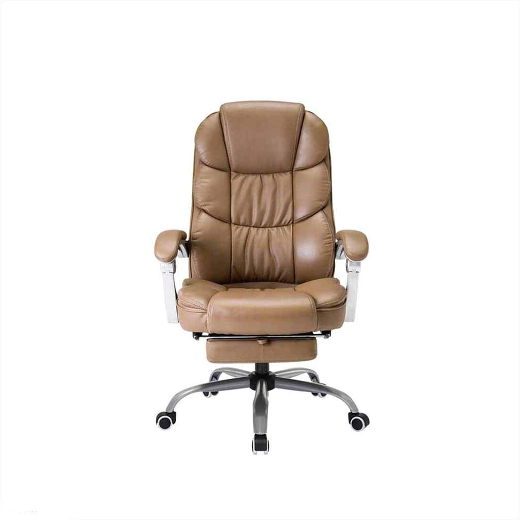 swivel chair qz home e sports game chair ergonomic chair lifting swivel chair office learn modern leisure simple comfortable pu footrest color khaki