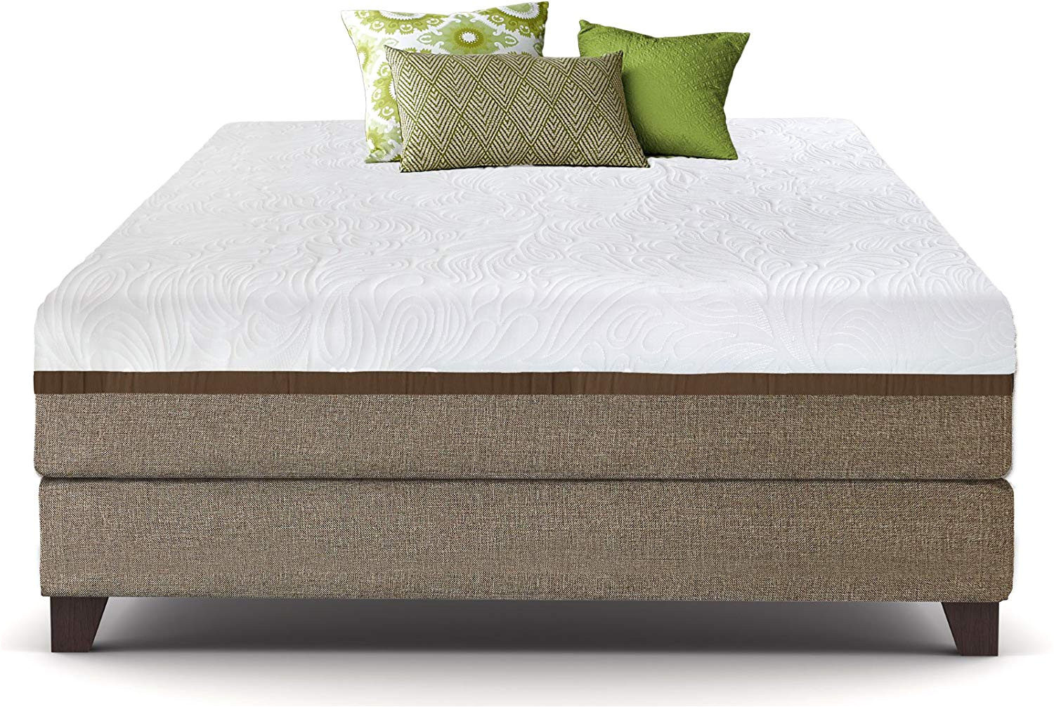 Extra Strong Bed Frame Amazon Com Live and Sleep Ultra California King Mattress Gel