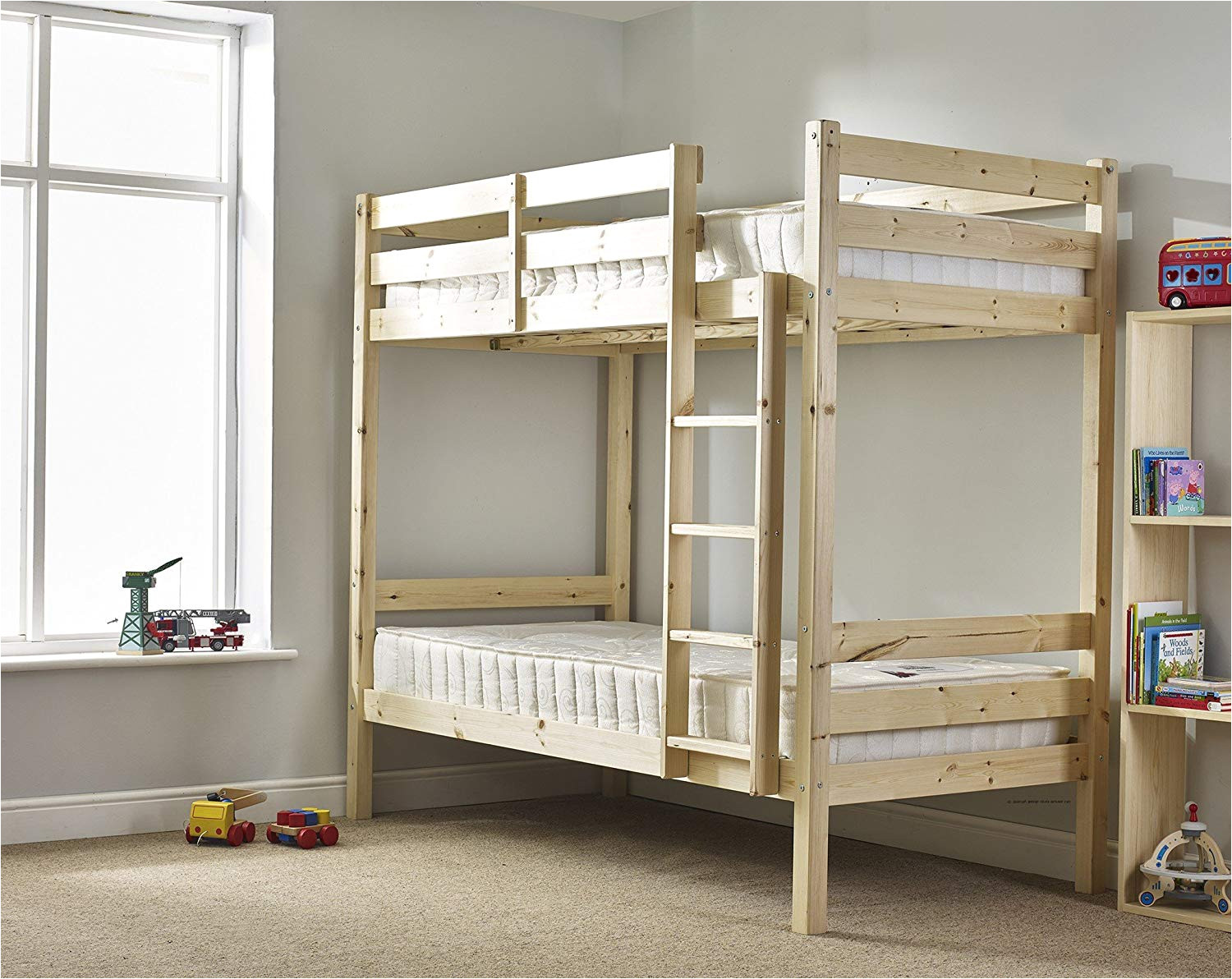 heavy duty bunk bed 3ft single solid pine bunk bed can be used by adults very strong amazon co uk kitchen home