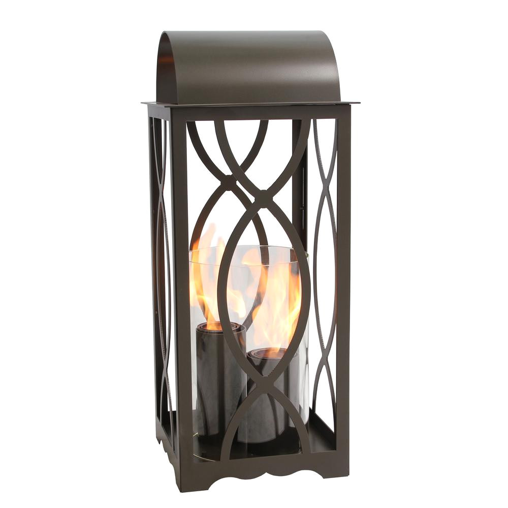 terra flame augusta 32 5 in lantern in bronze large size