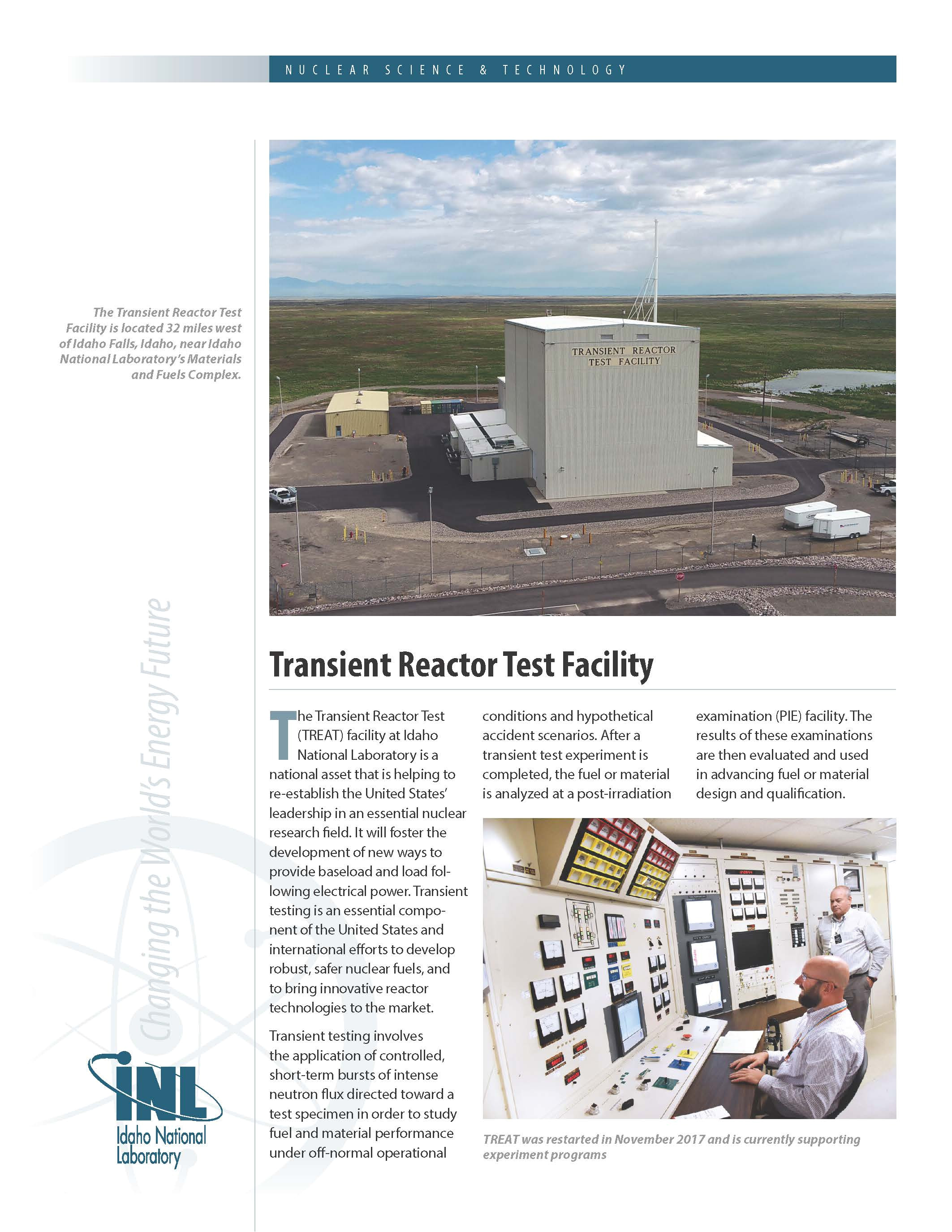 https factsheets inl gov publishingimages transient reactor test facility page 1 jpg