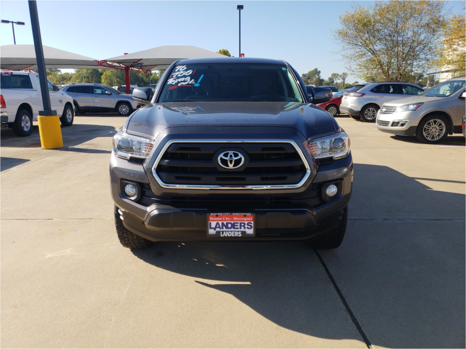 pre owned 2016 toyota tacoma trd off road