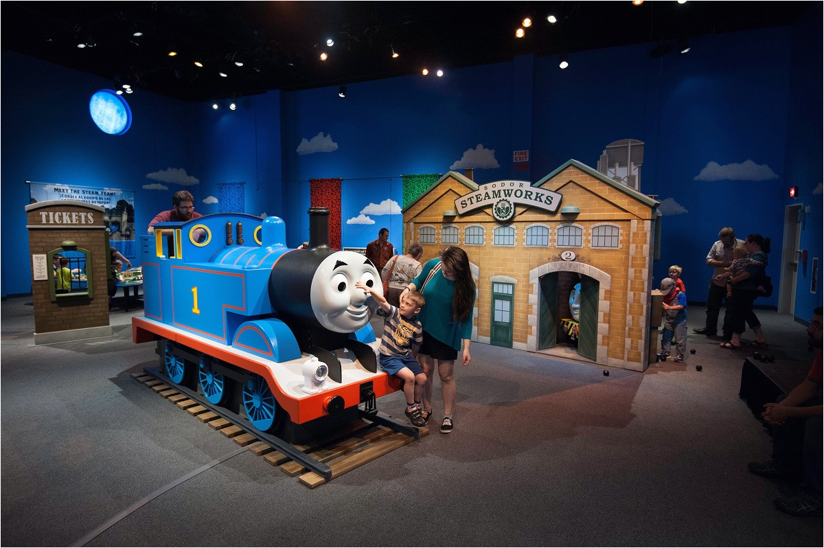 children can explore the island of sodor at the thomas friends explore the rails