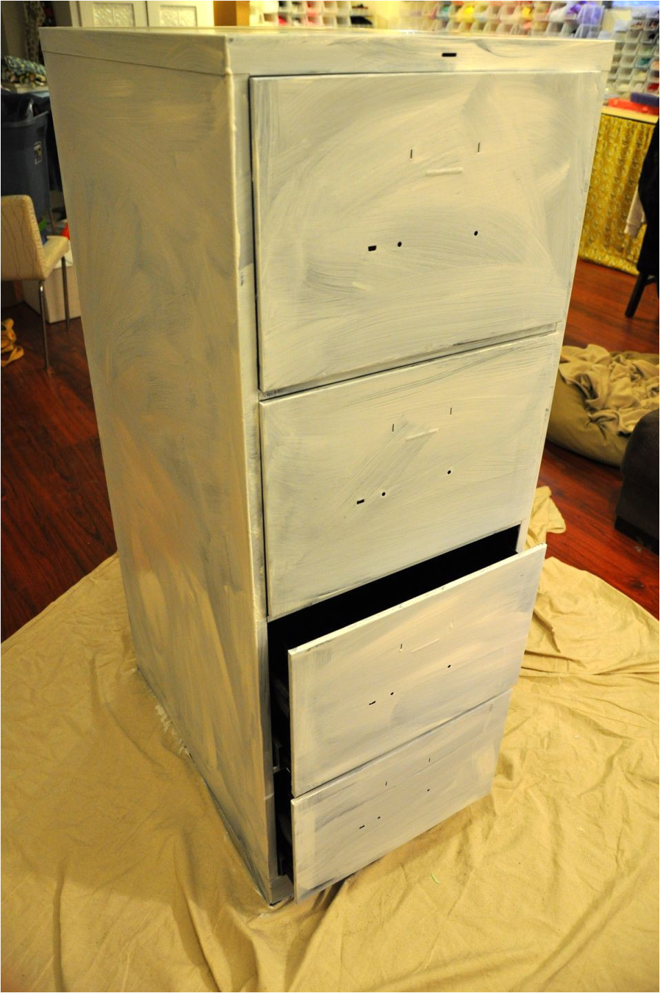 diy project of the week file cabinet redo