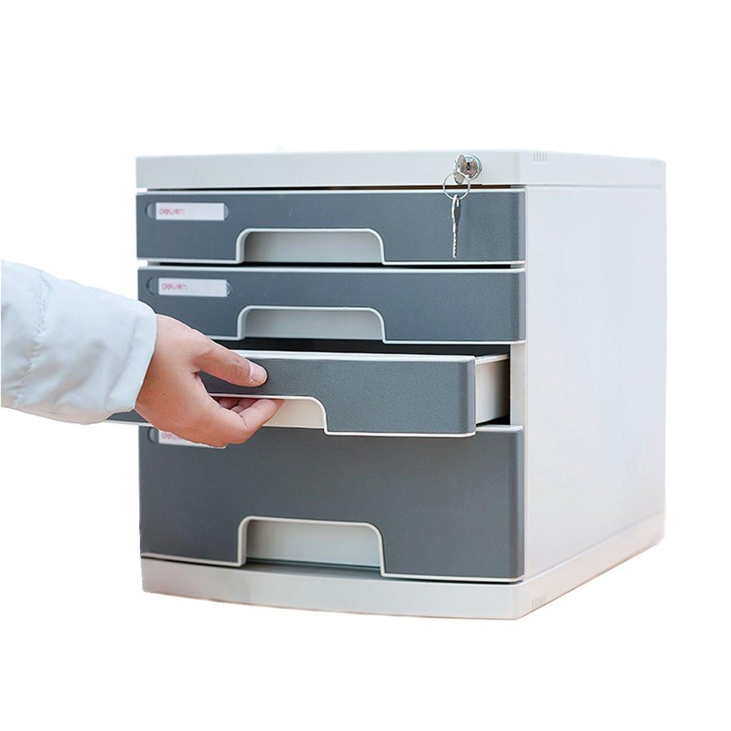 filing cabinet kky enter desktop file cabinet lockable data drawer 4 layers plastic office storage box office desktop drawer organizer amazon co uk