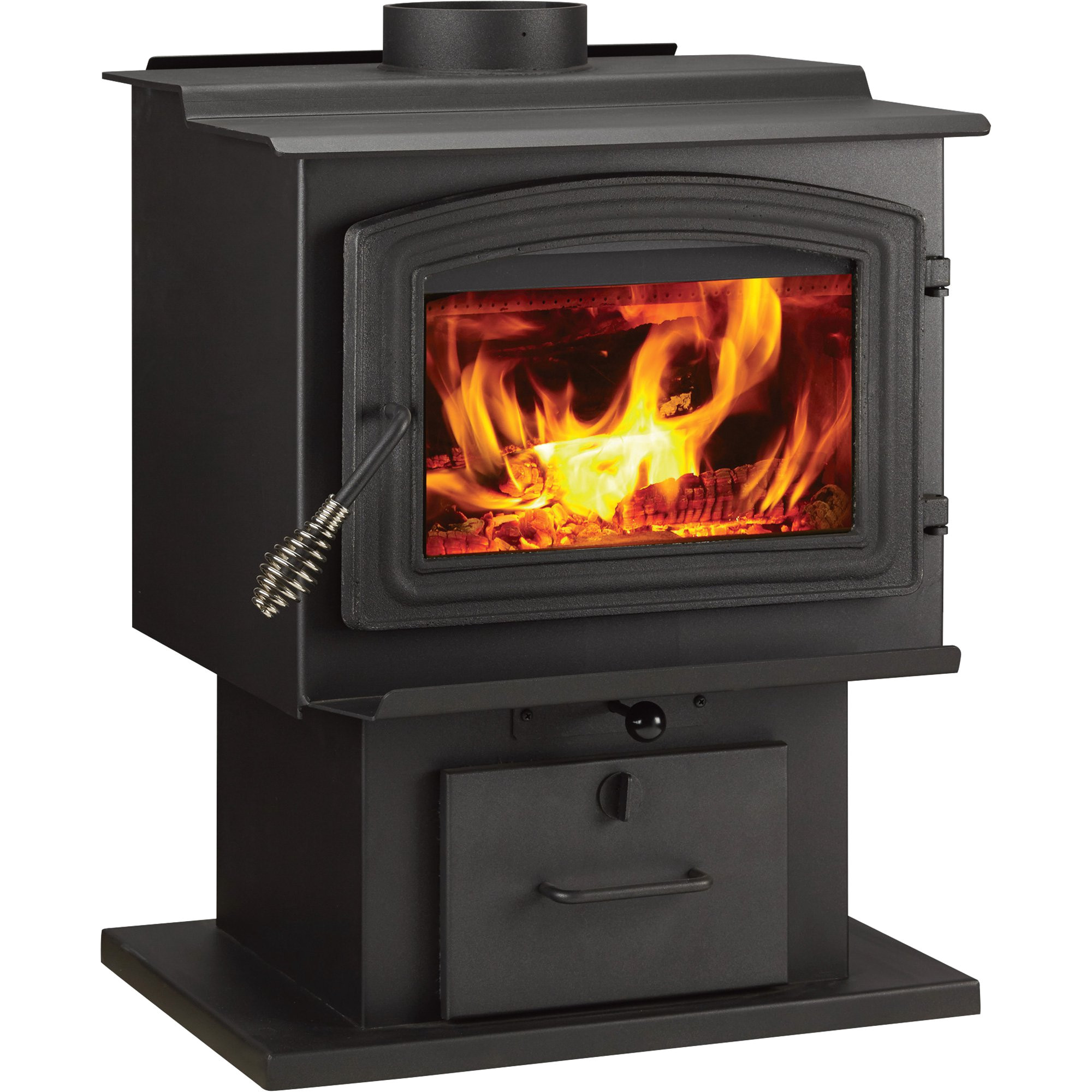 woodpro wood stove 68 000 btu epa certified