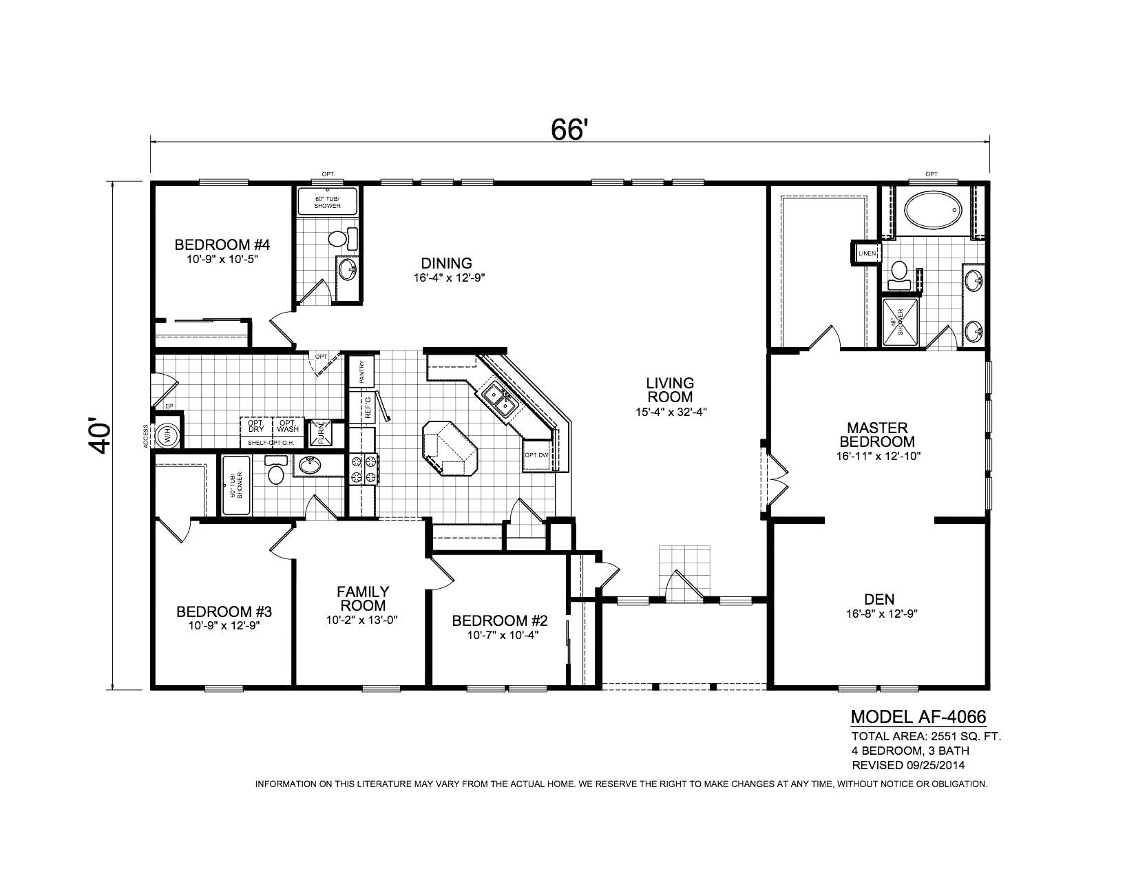 Fleetwood Mobile Homes Floor Plans 1997 | AdinaPorter