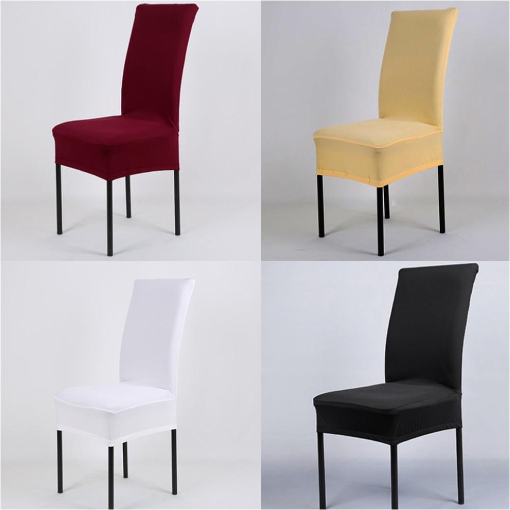 fundas de silla de tela elastica pura de 14 colores para decoracia n de bodas sillas de fiesta fundas para sillas de comedor de banquete fundas protectoras