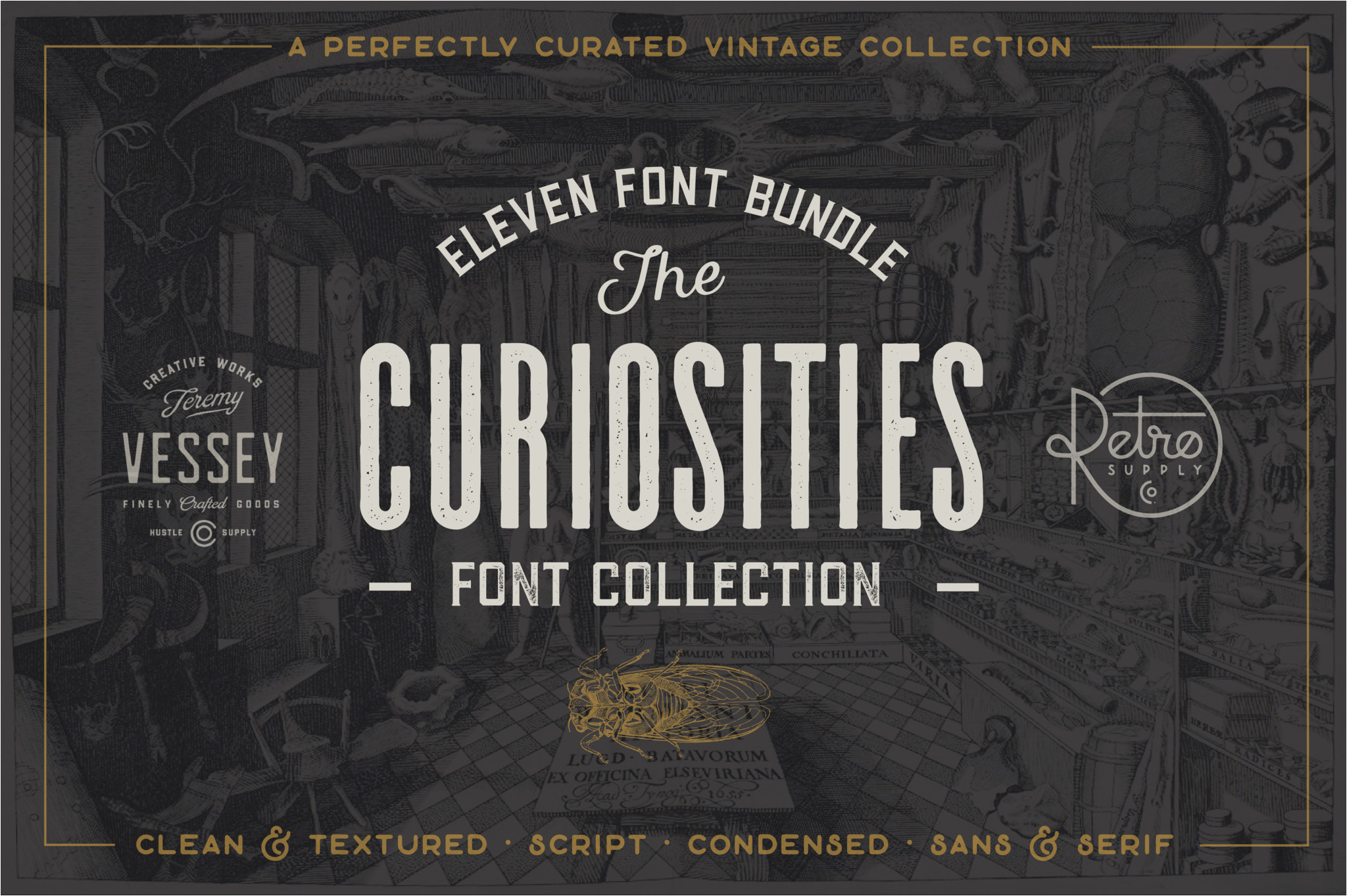 the curiosities font collection