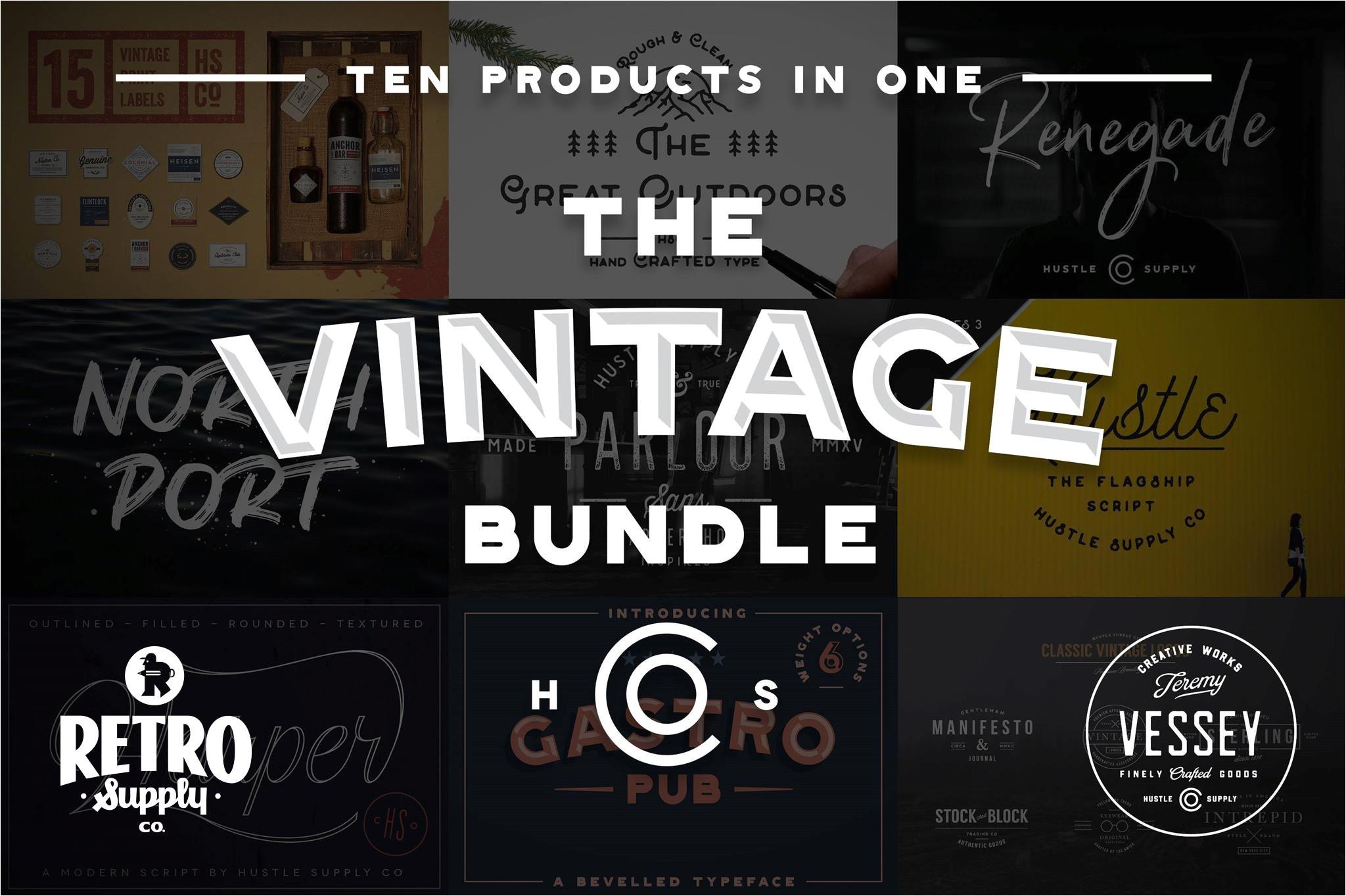 the vintage bundle by hsco