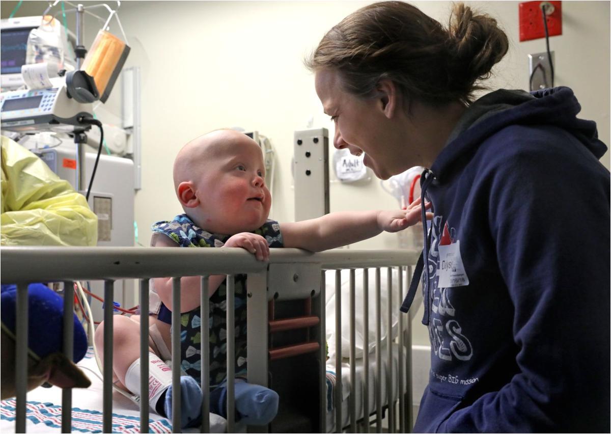 a lifesaving gift near stranger donates kidney to toddler in st louis
