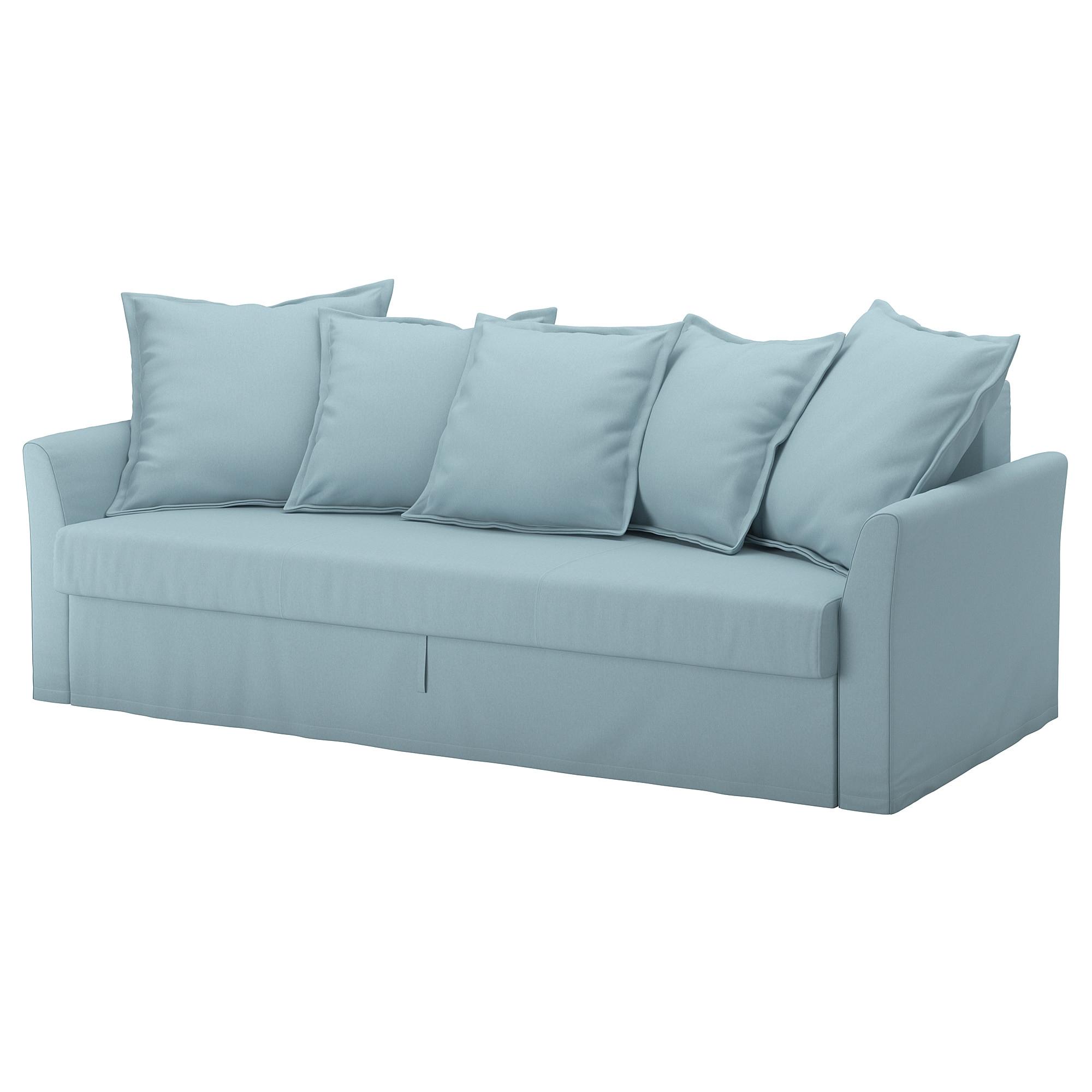 ikea holmsund sofa cama 3 plazas debajo del asiento puedes guardar ropa de cama por