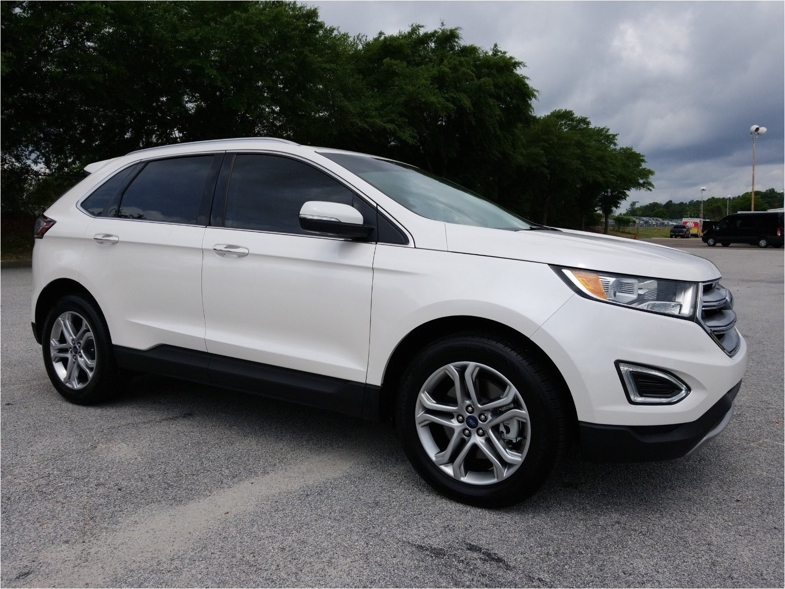 used 2018 ford edge titanium in augusta ga