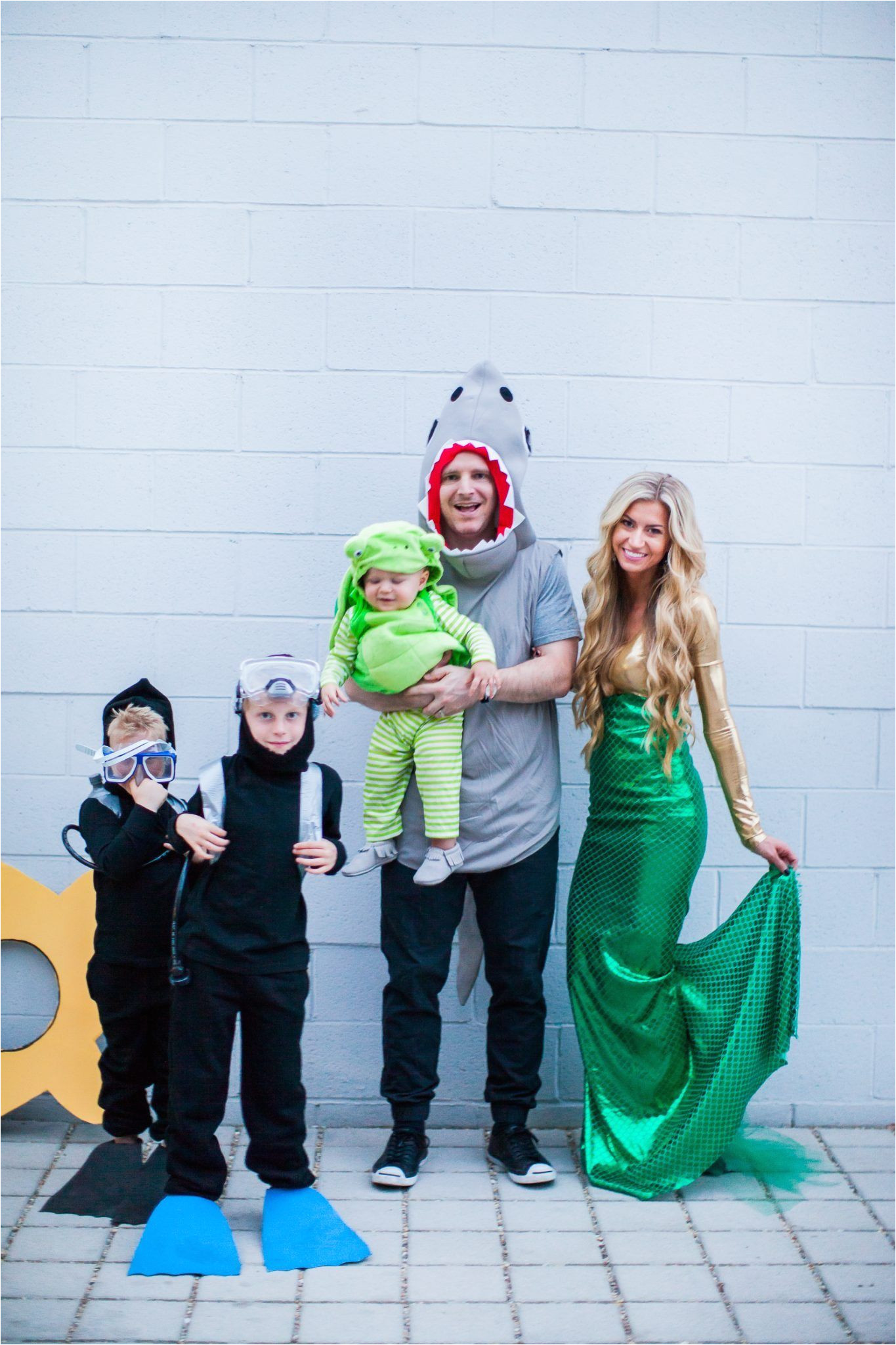 under the sea family halloween costume