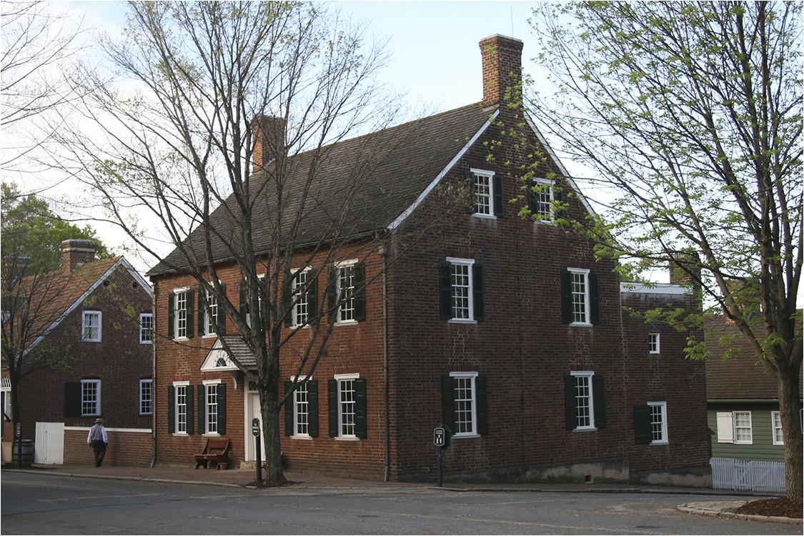 13 john vogler house 1819 salem nc restored 1954