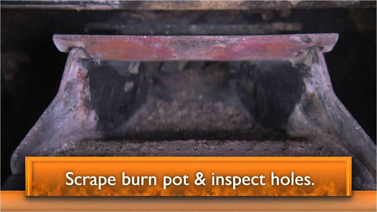 harmana accentra pellet stove maintenance video